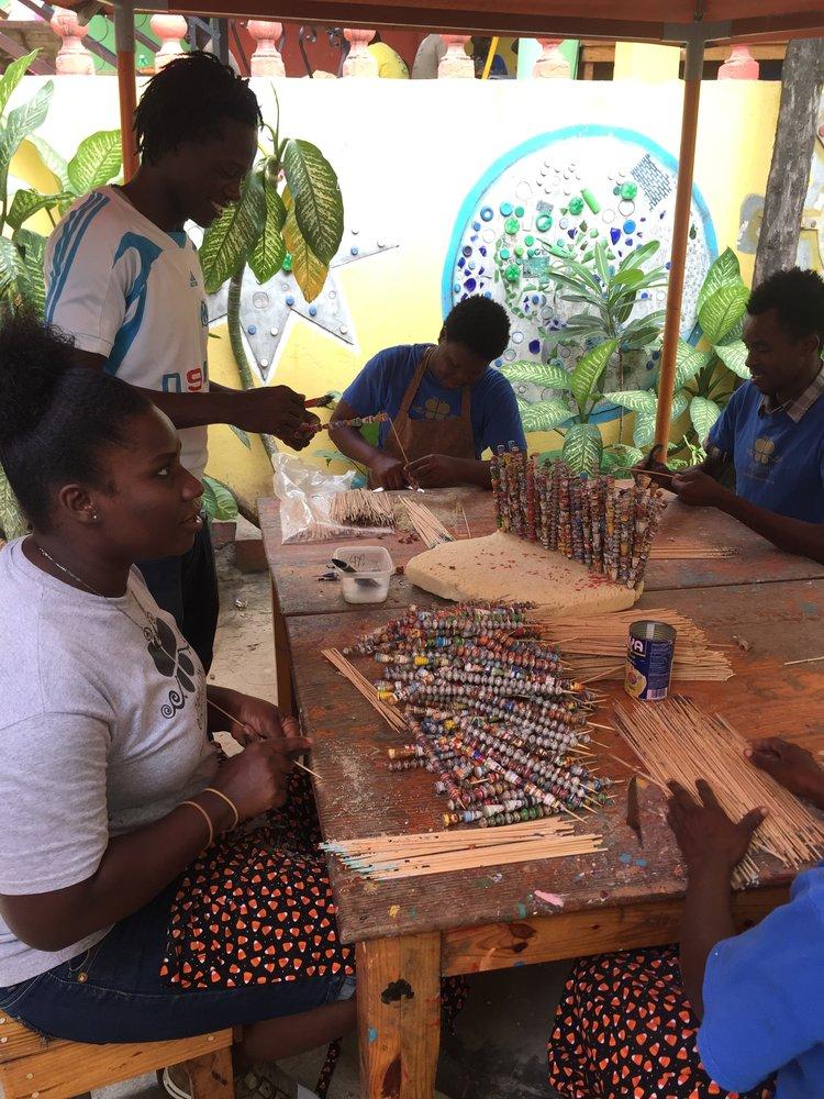 haiti made jewelry