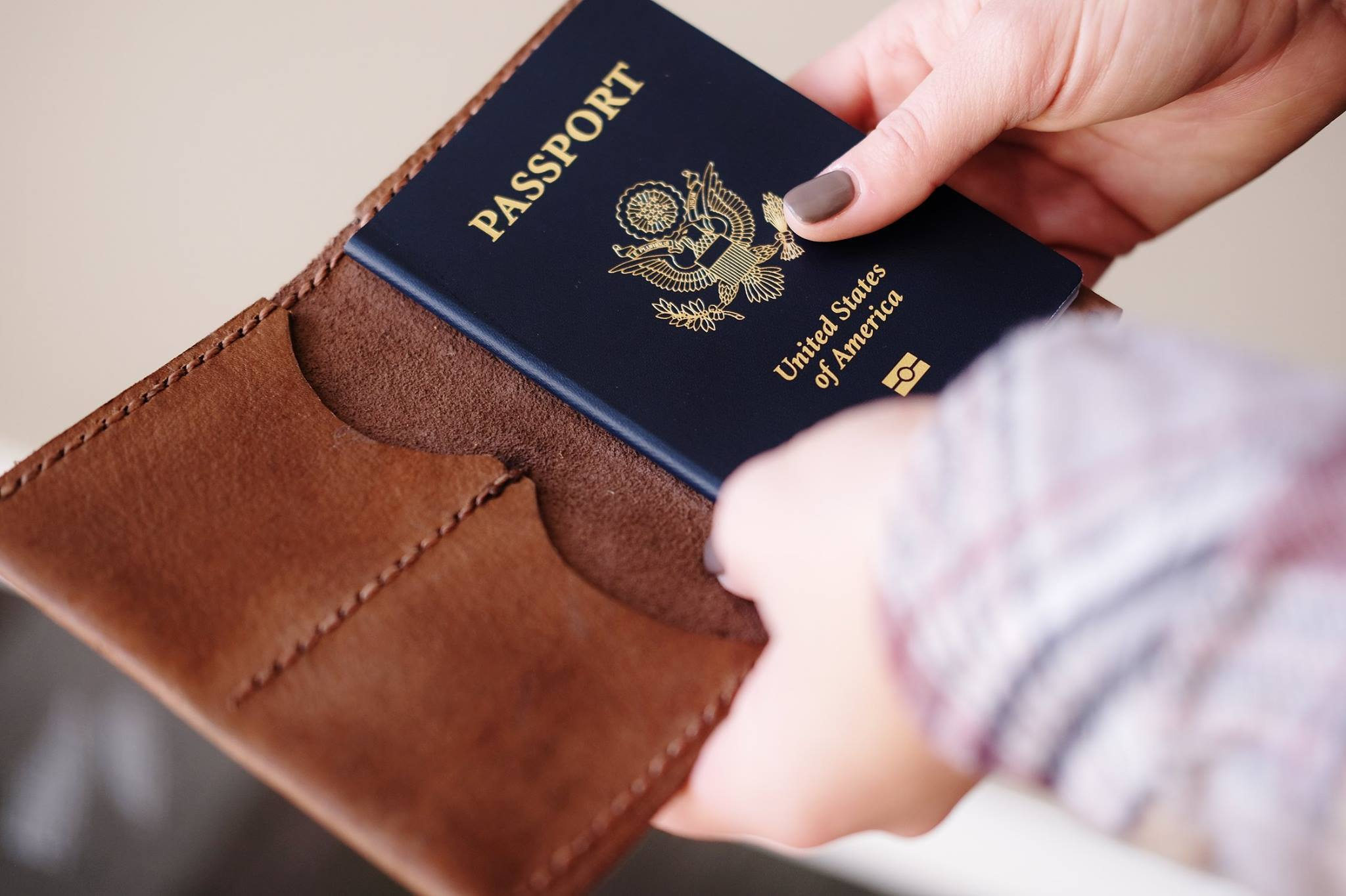 ethical passport wallet