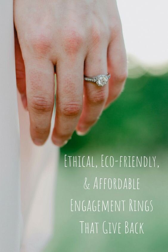 affordable ethical engagement ring