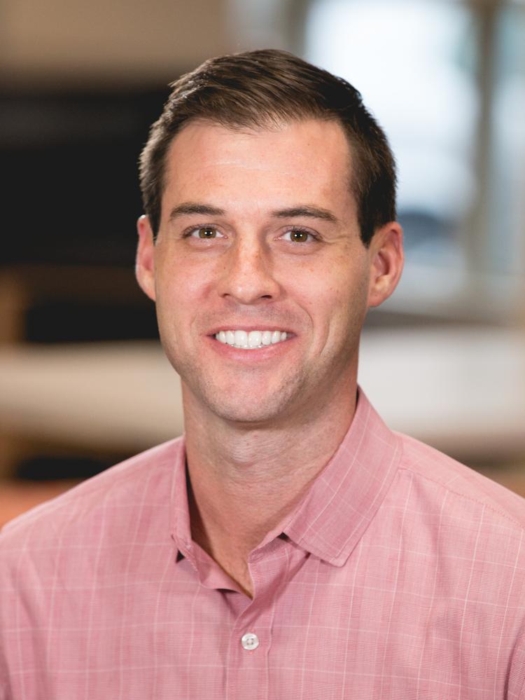 Ryan Heimke, Partner and president, Office Interiors  HUNTER SAMPLE