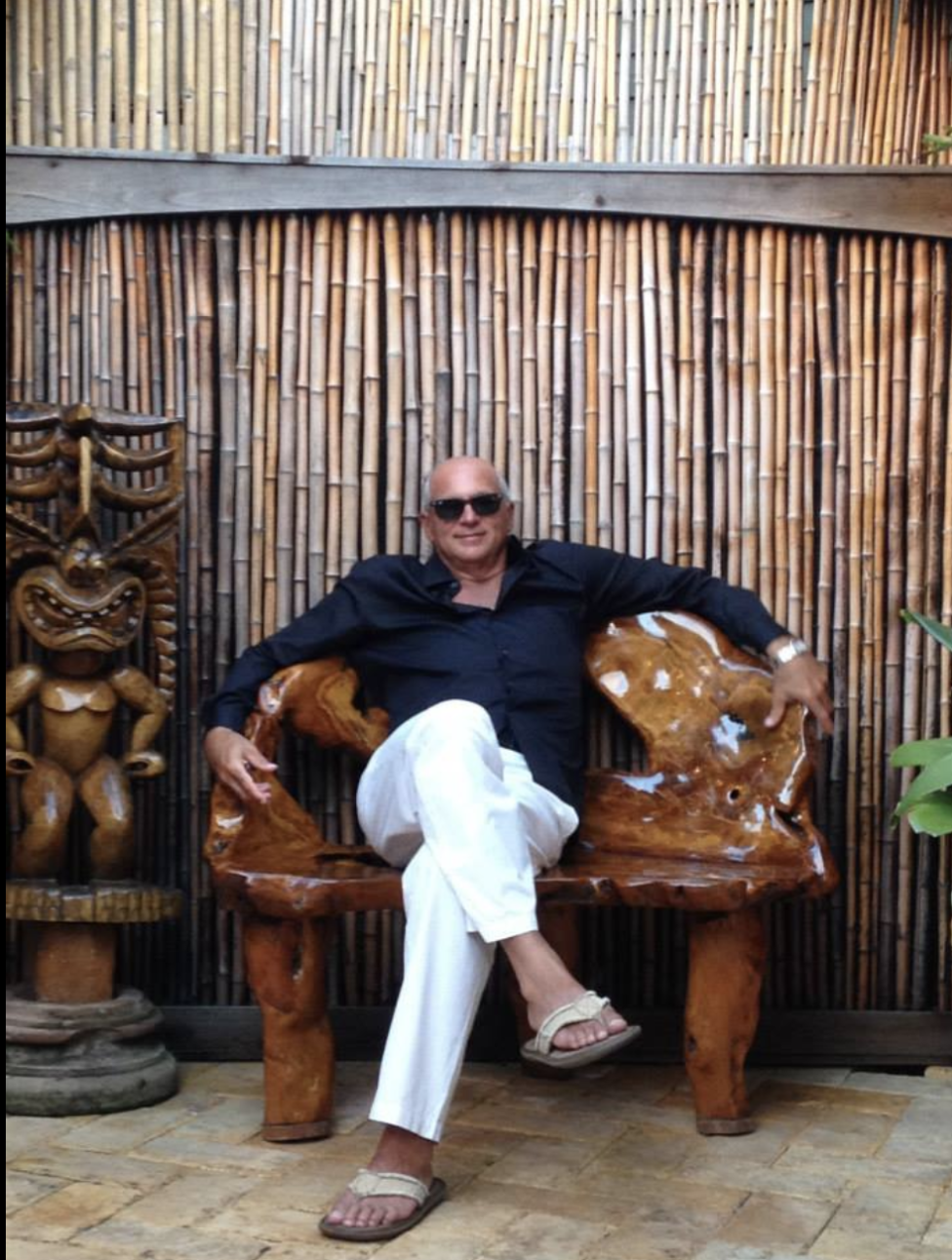 This picture of my dad is just epic. El Jefe. Mamas Fish House, Maui