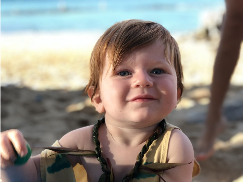 Luka Kalani Ricci - My Boy. The eternal sunshine in my heart. He also hates private life and told me he prefers that we live in a village.More on him and how he got here in the next post.