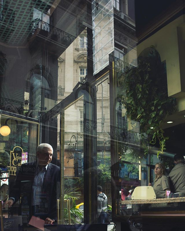 #tbt #reflecting // #buenosaires #cafe