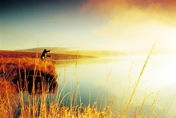 Sunrise fisherman:jpg
