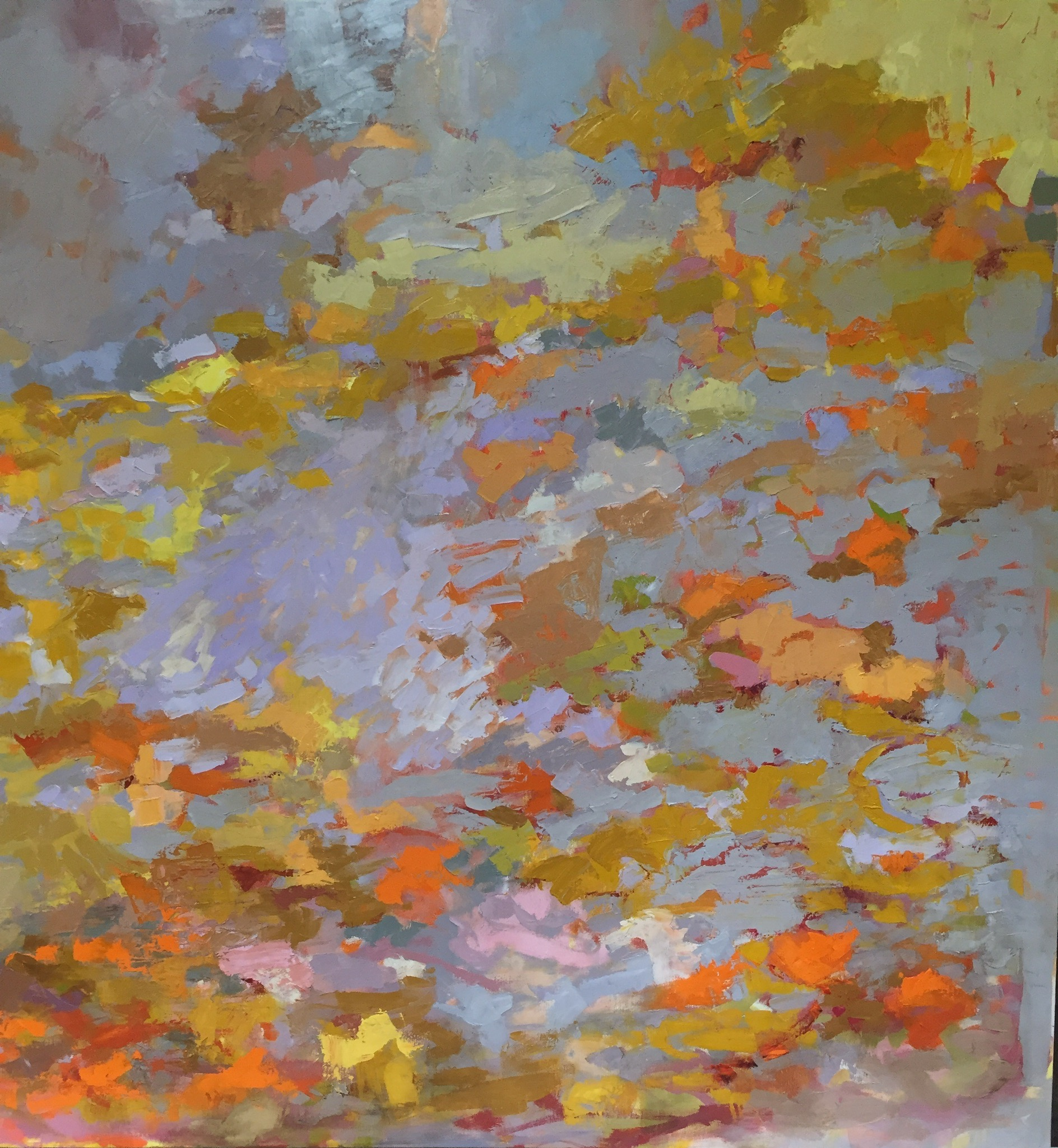 Fall Leaves Afloat