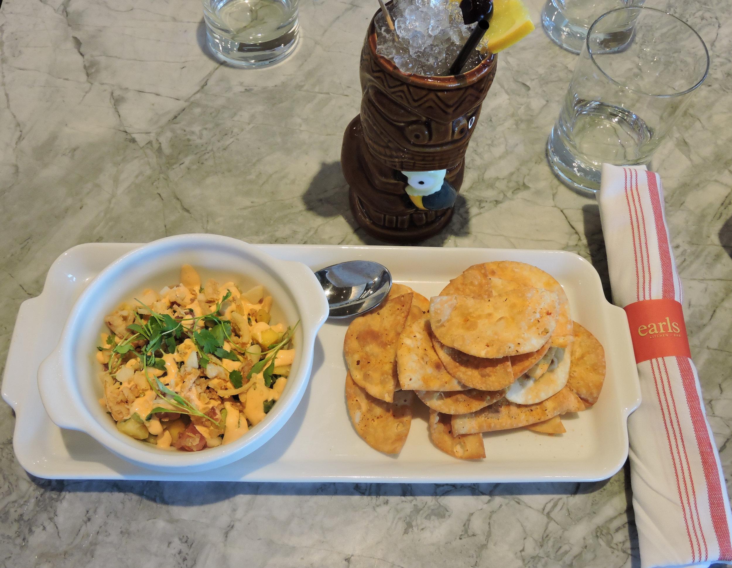 Earls Kitchen and Bar Tuna Poke