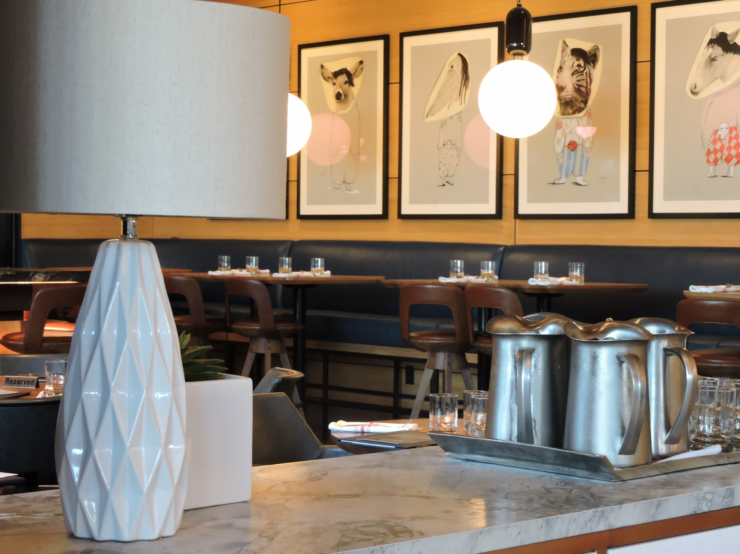 Earls Kitchen and Bar Dining Area