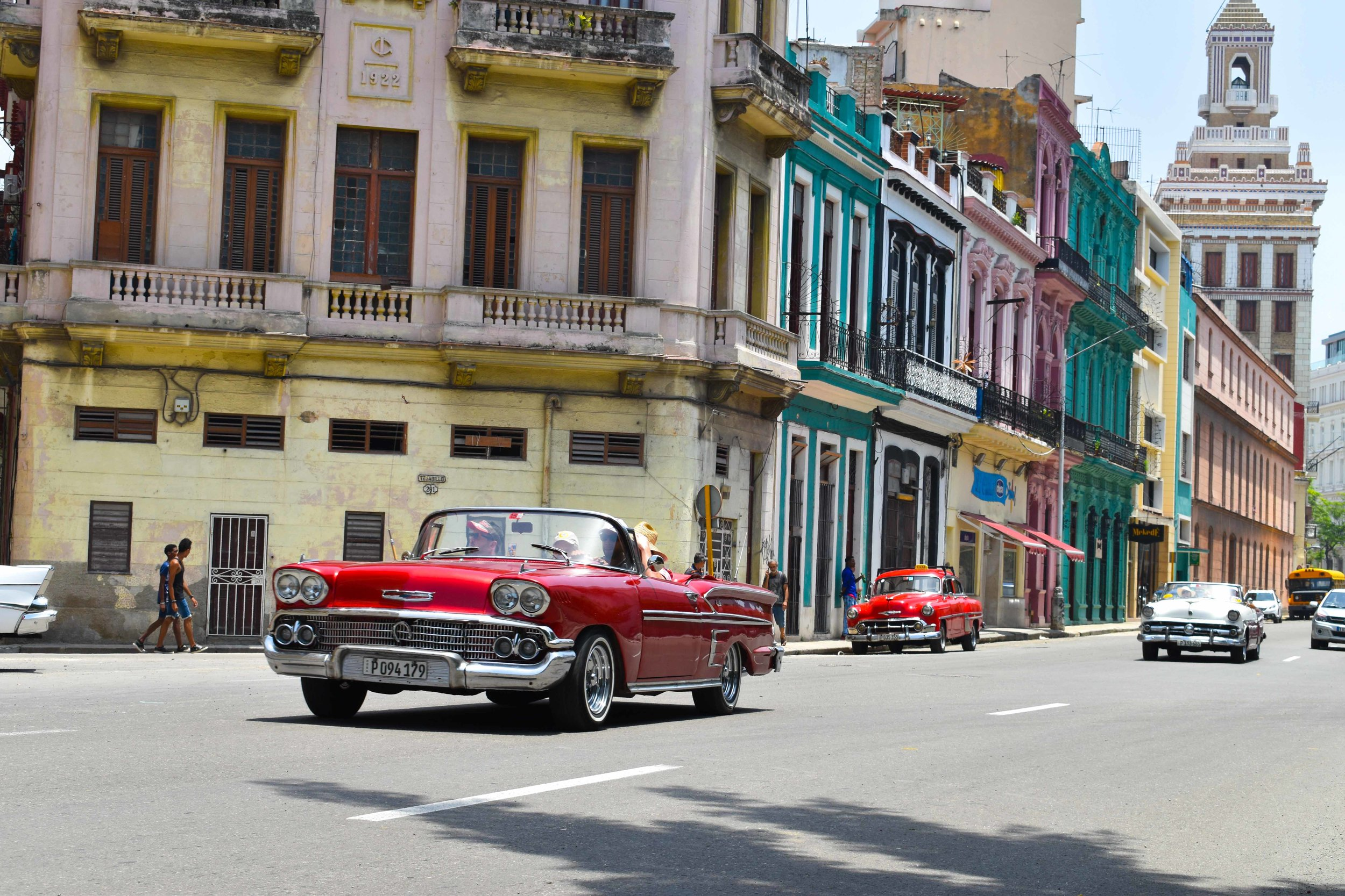 Traveling in Time to Cuba -