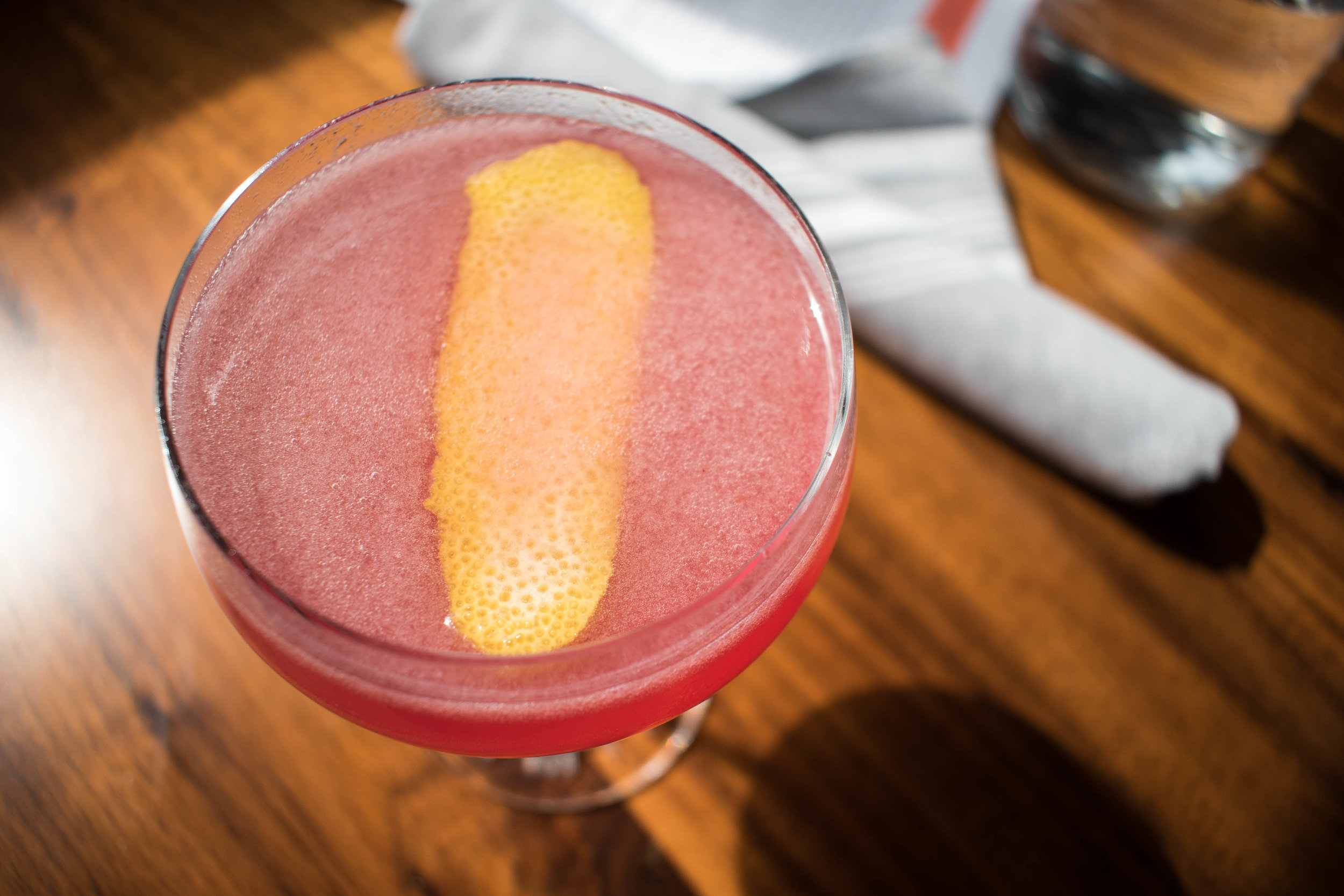 Luke's Kitchen and Bar Gatsby Cocktail