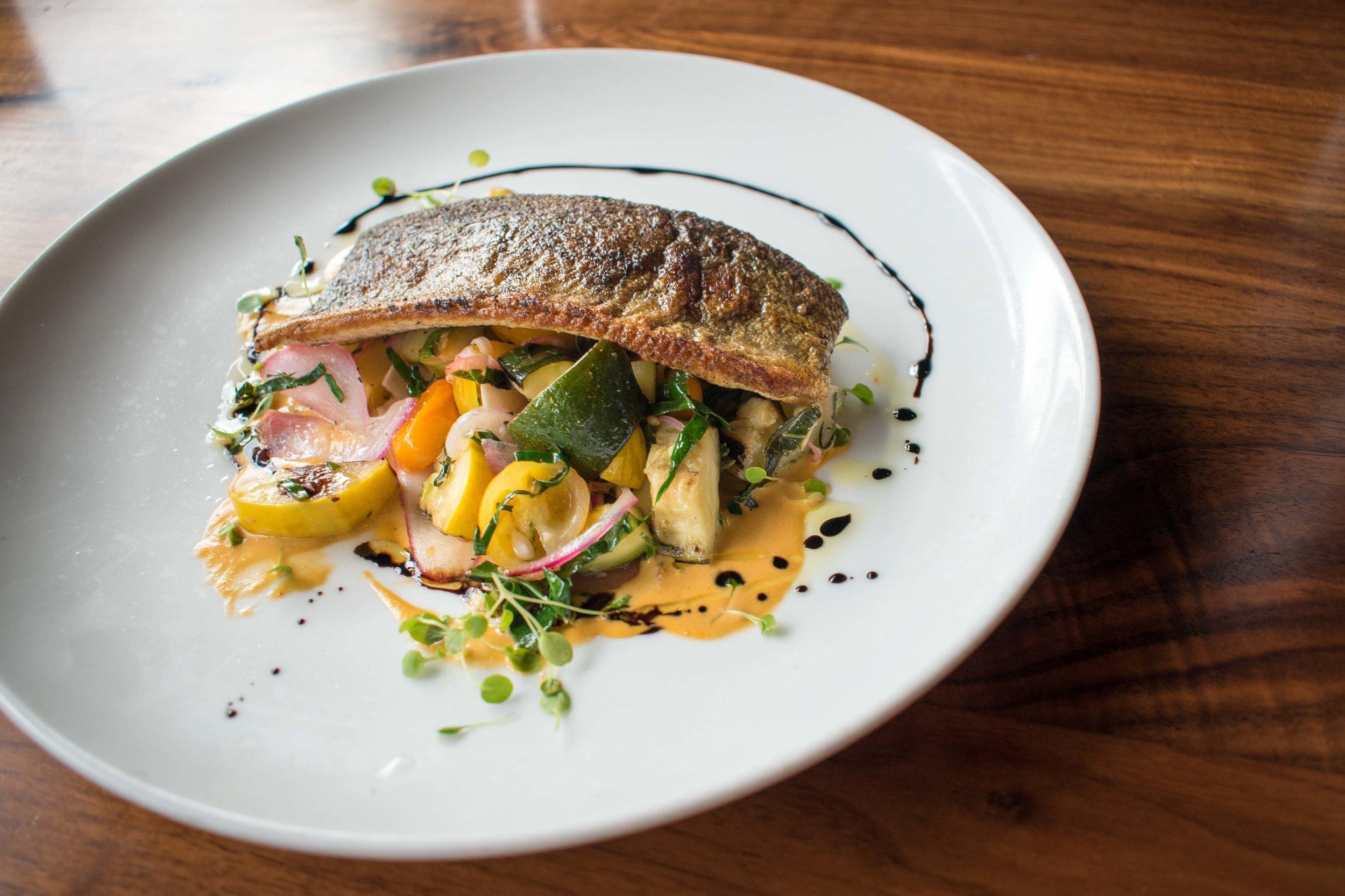 Luke's Kitchen and Bar Idaho Rainbow Trout