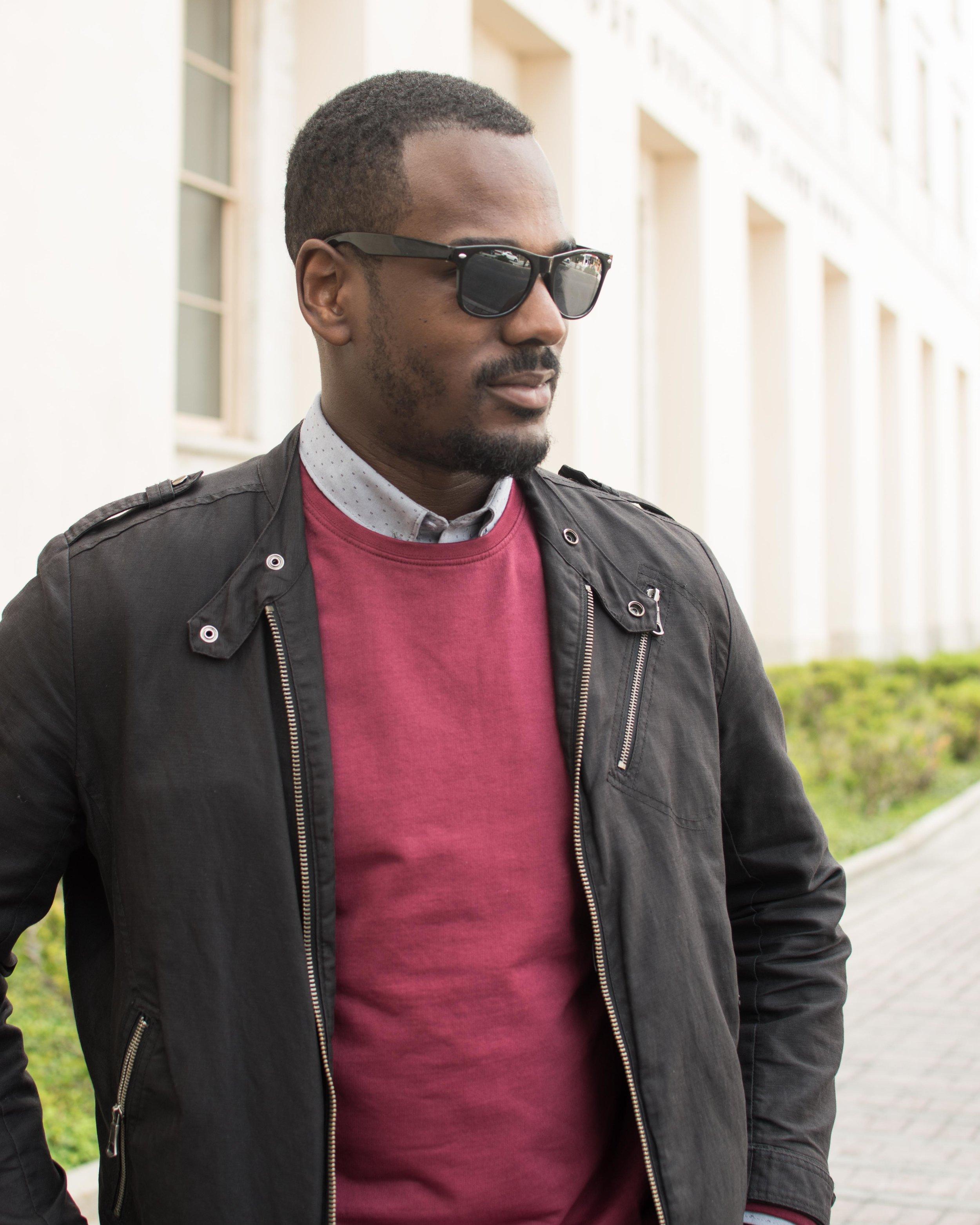lindbergh sweater shirt details black canvas jacket