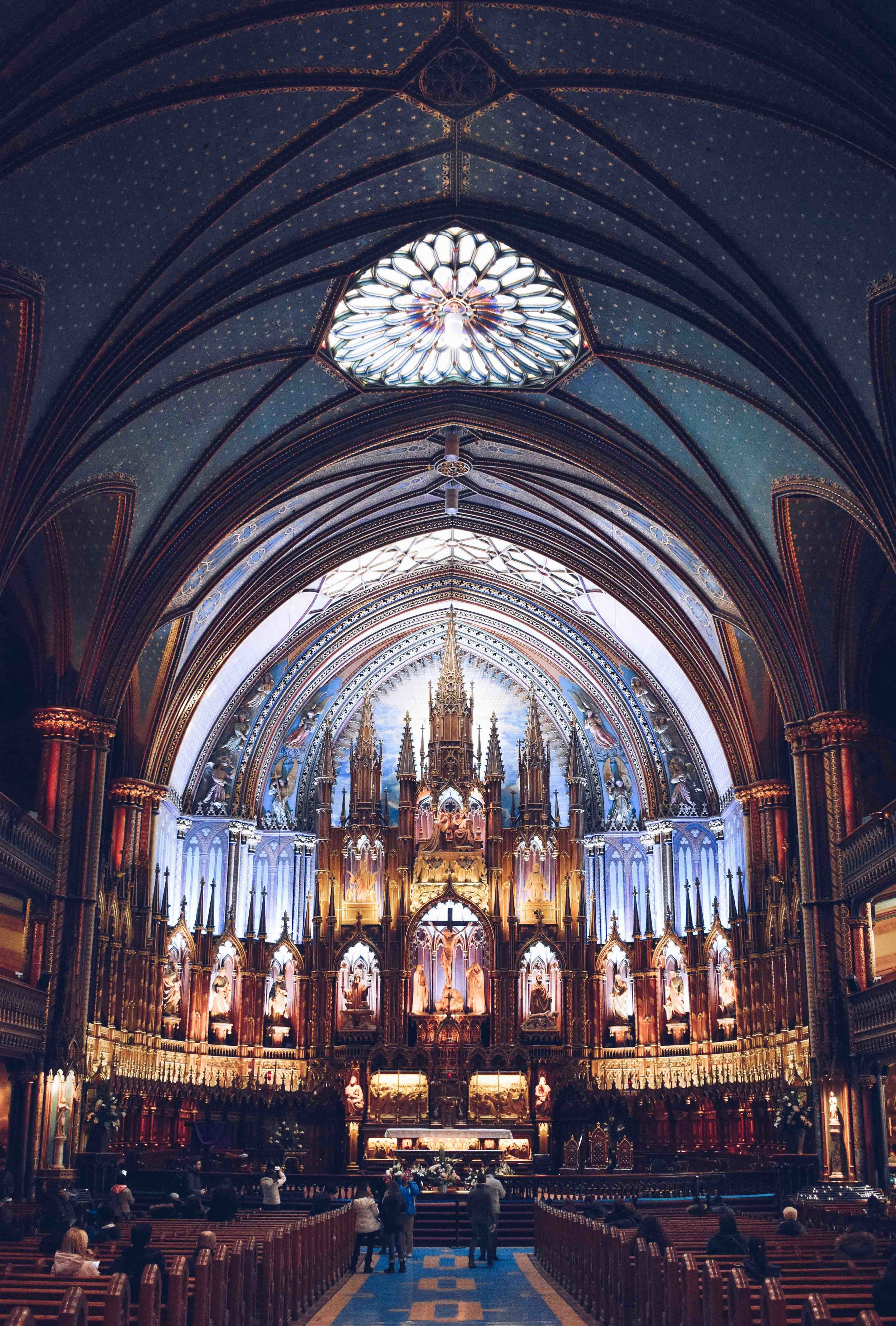 things to see in montreal notre dame basilica