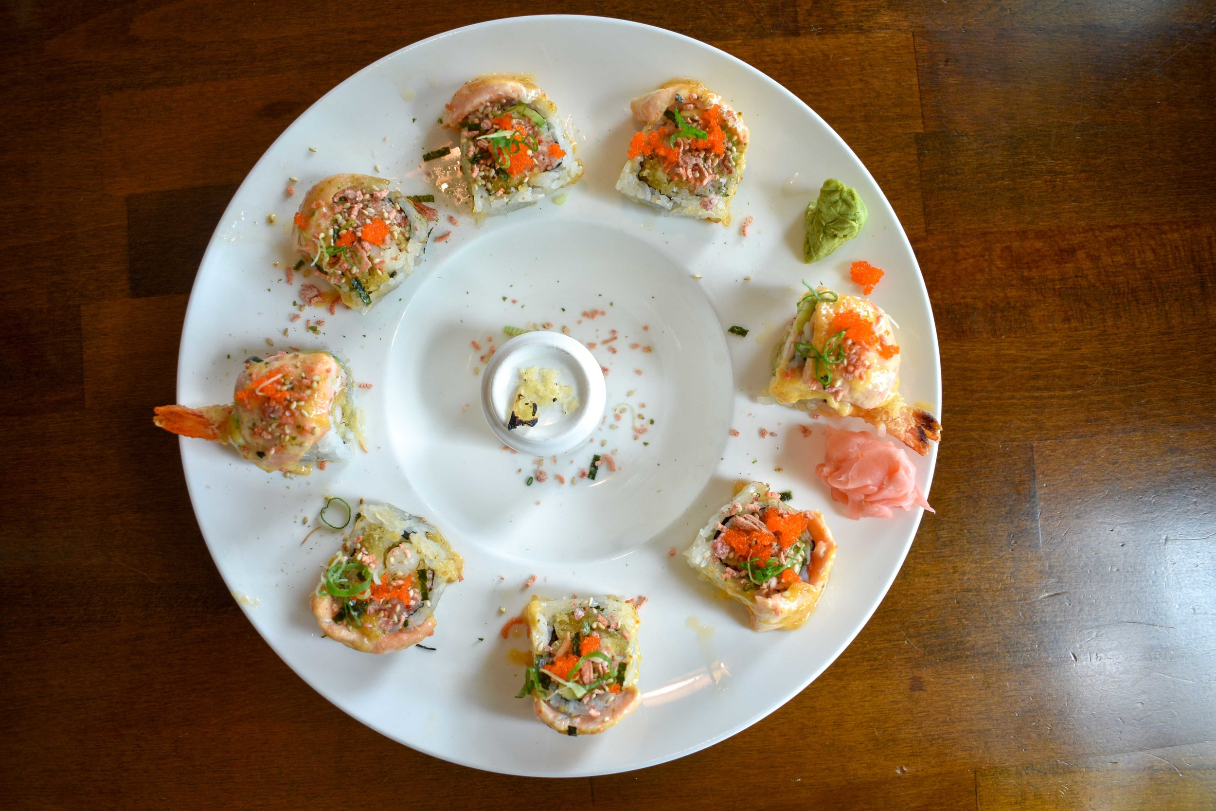 yamasan sushi harmony roll orlando food blog