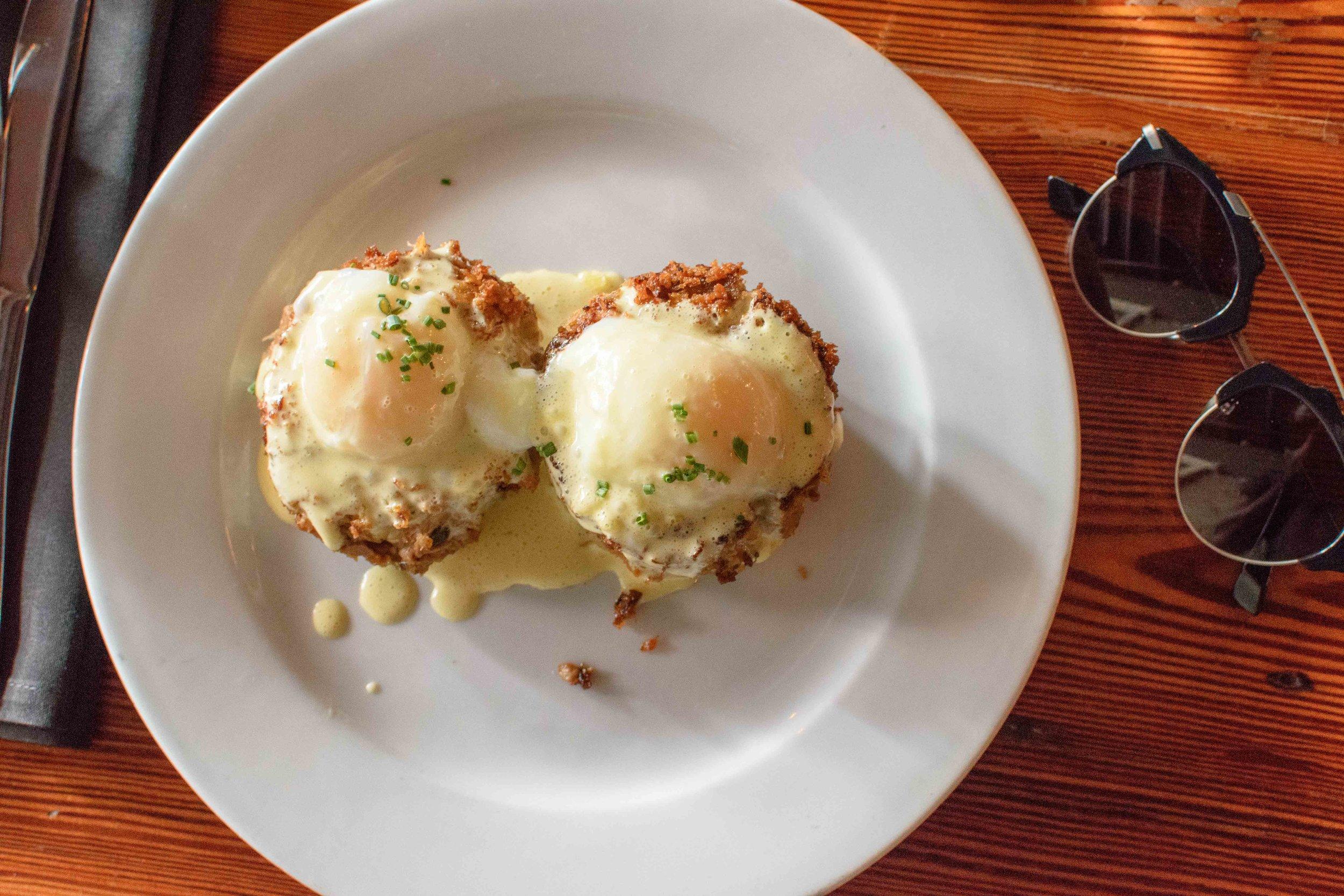 sylvain places to eat in new orleans pork shoulder benedict