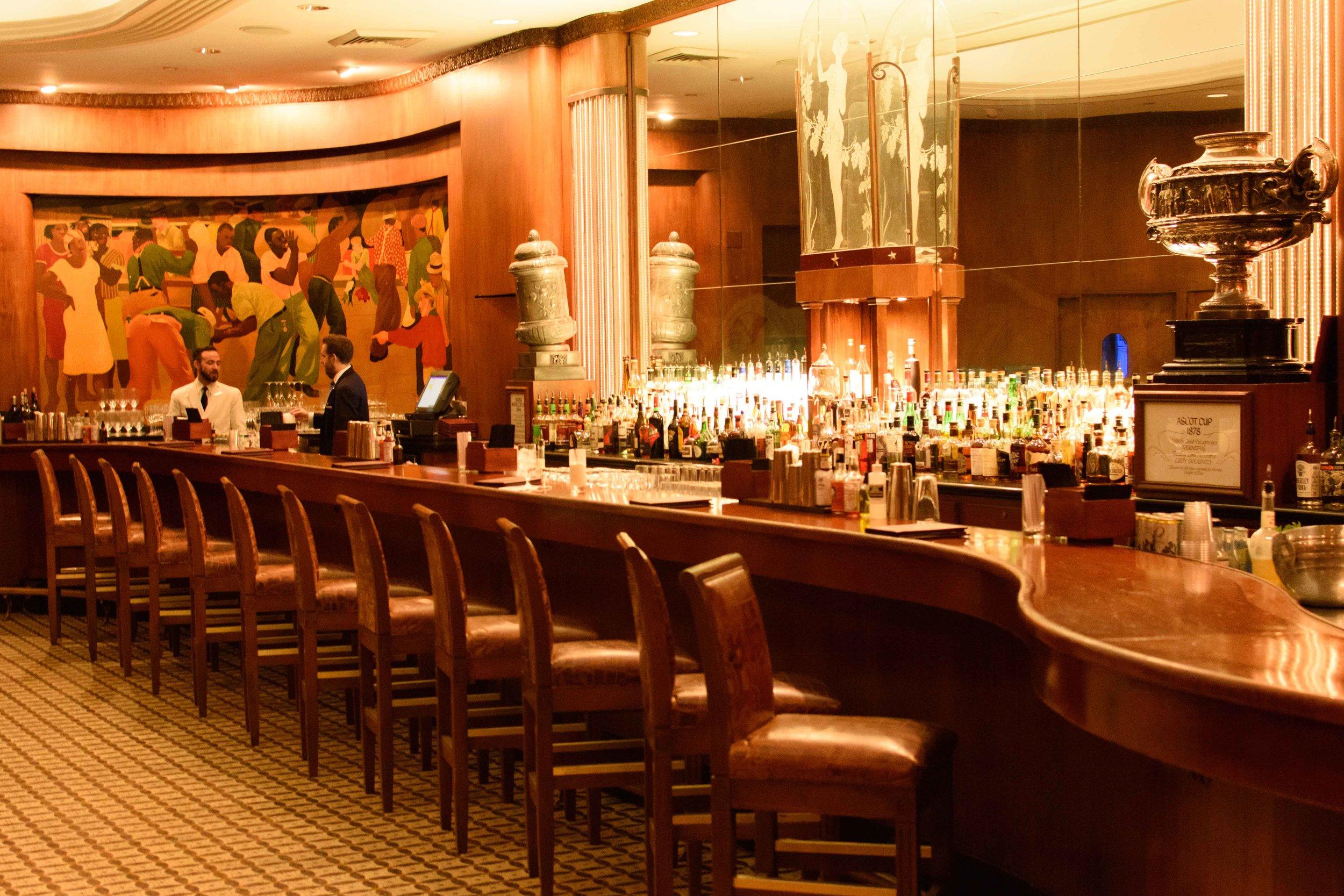 sazerac bar new orleans cocktails roosevelt hotel