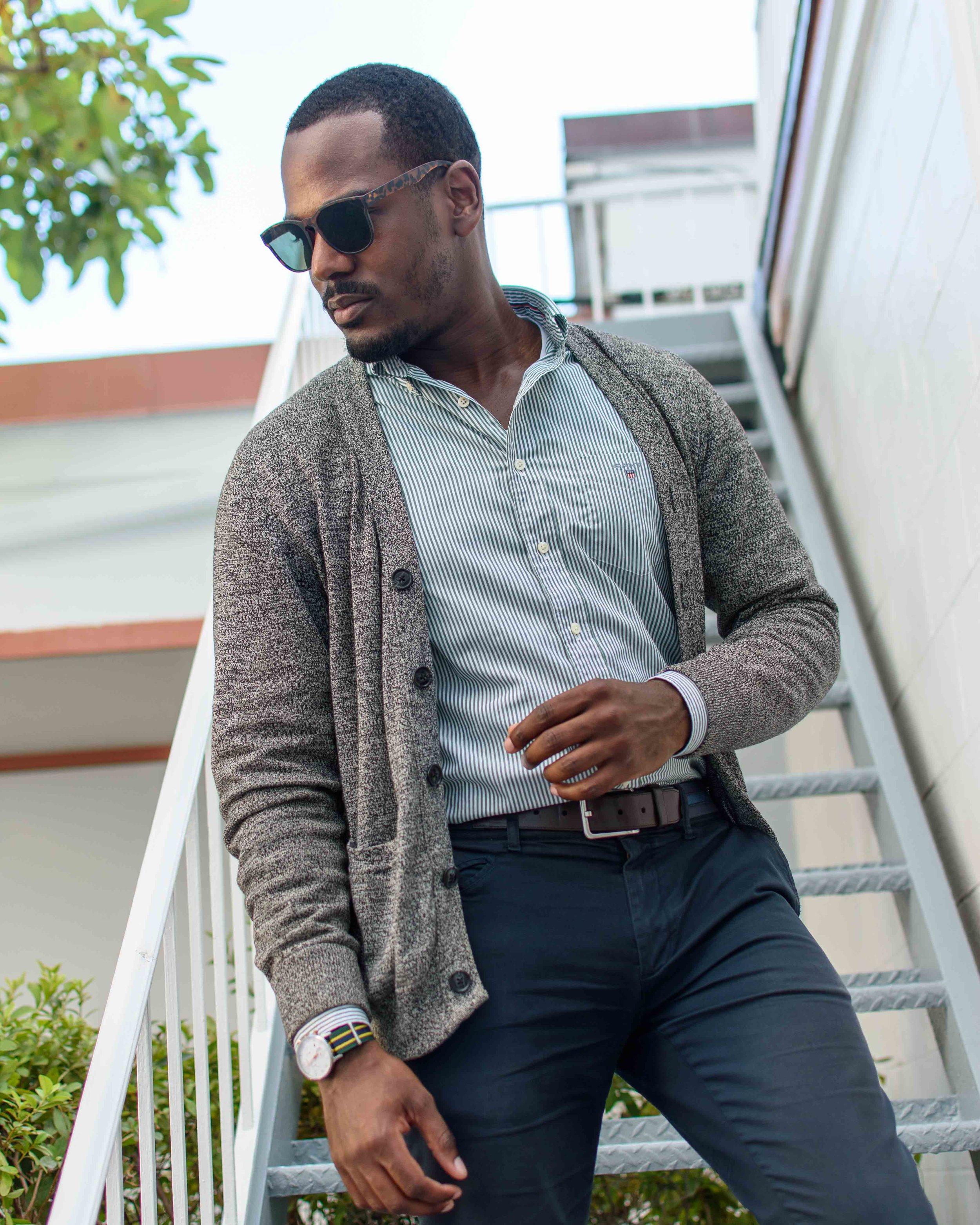 gant slim fit banker striped shirt pine green greg mcgregorson gregsstyleguide.JPG