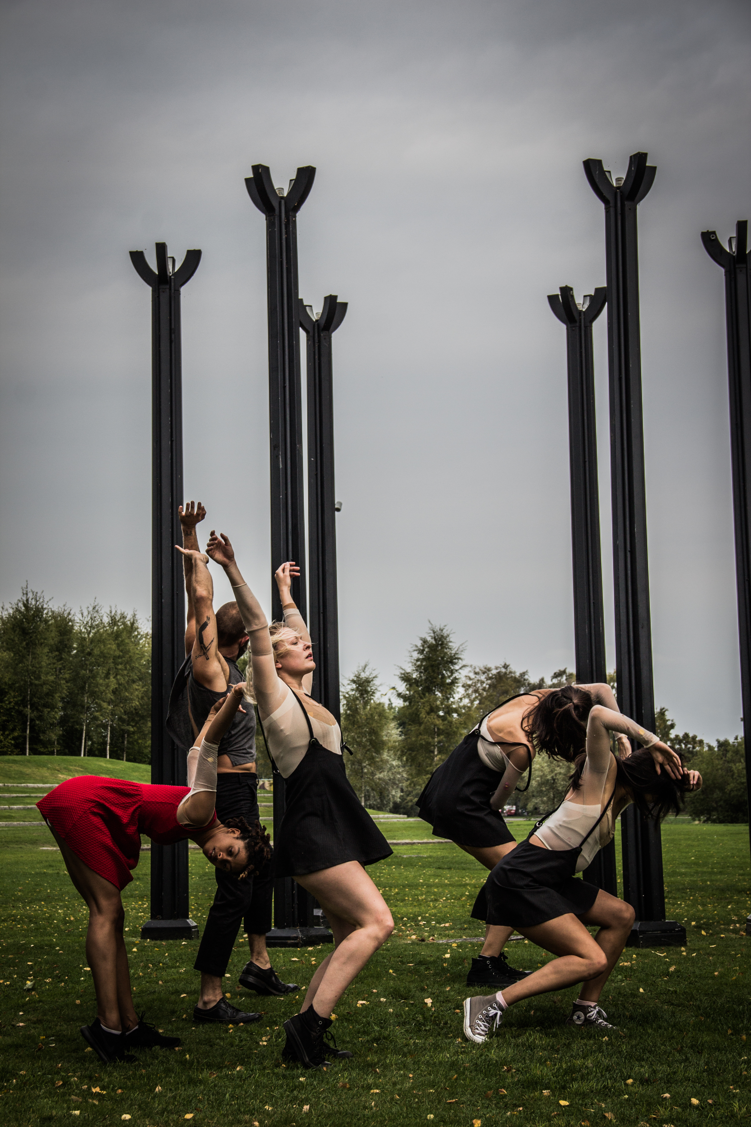 """""""Seaclipse"""" a site specific piece performed at the abundance dance festival in karlstad, sweden. location: Varmland museum"""
