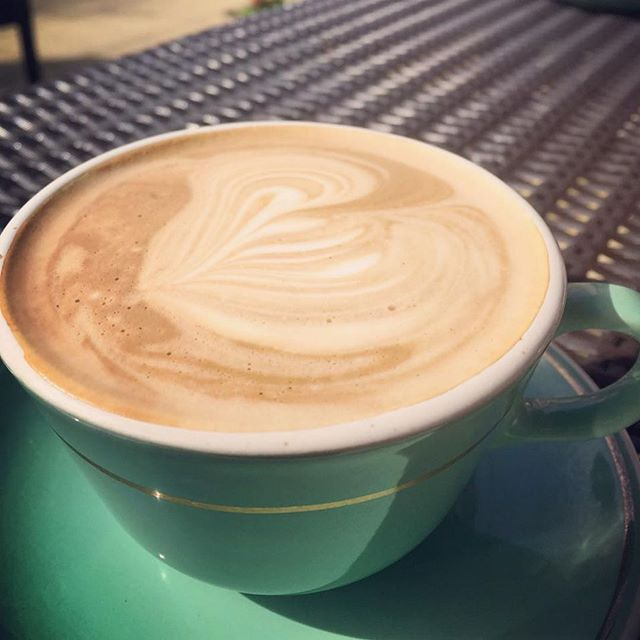 Thank you @trishabrigidofficial, we always love your lovely photos of our coffee! #coffee #flatwhite #greytownvillage #cafe #wairarpaa #nz #nzcafe #coffeetime #coffeelover