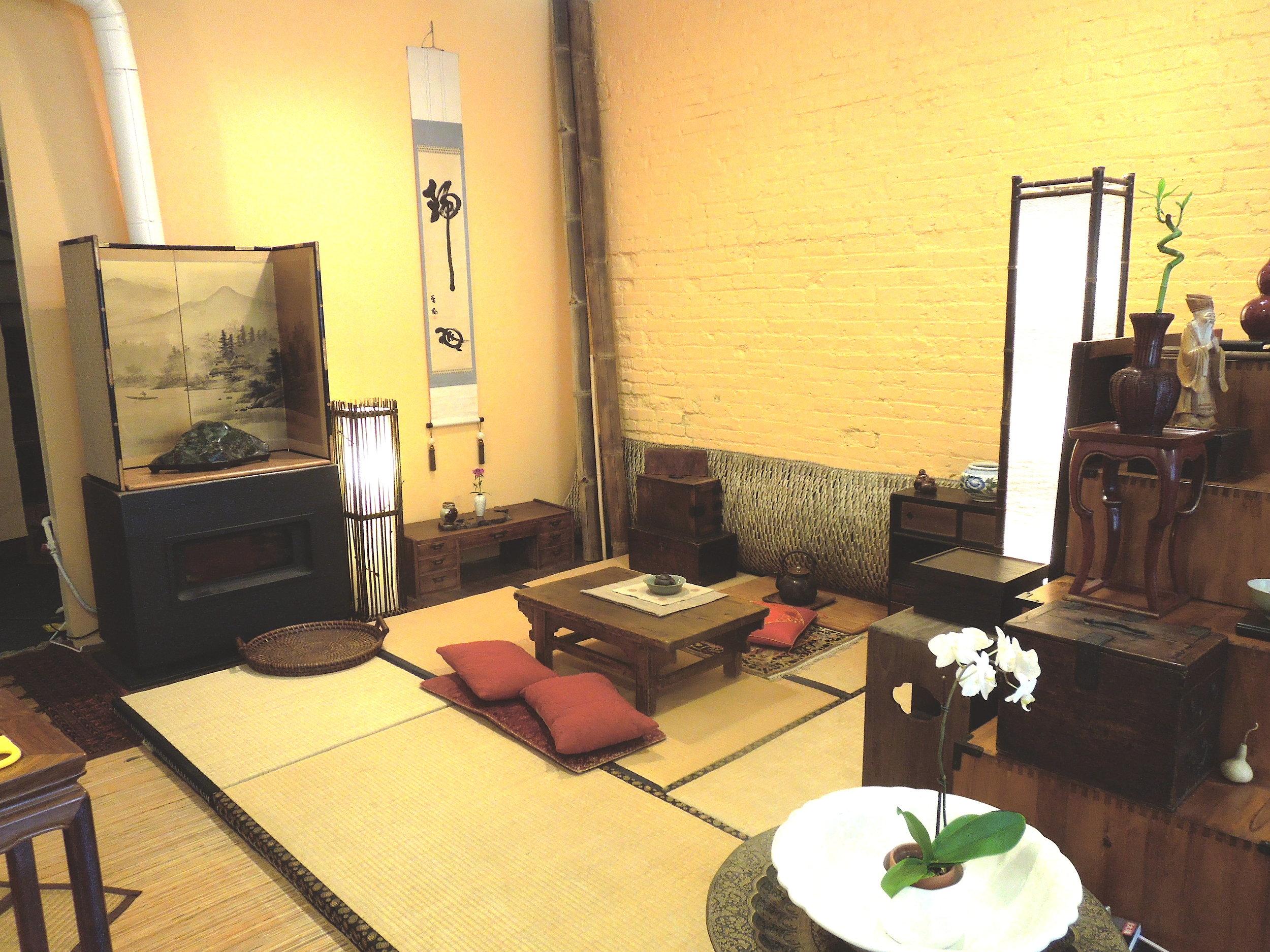 Old Jade Summit location, Tatami Tea Room area