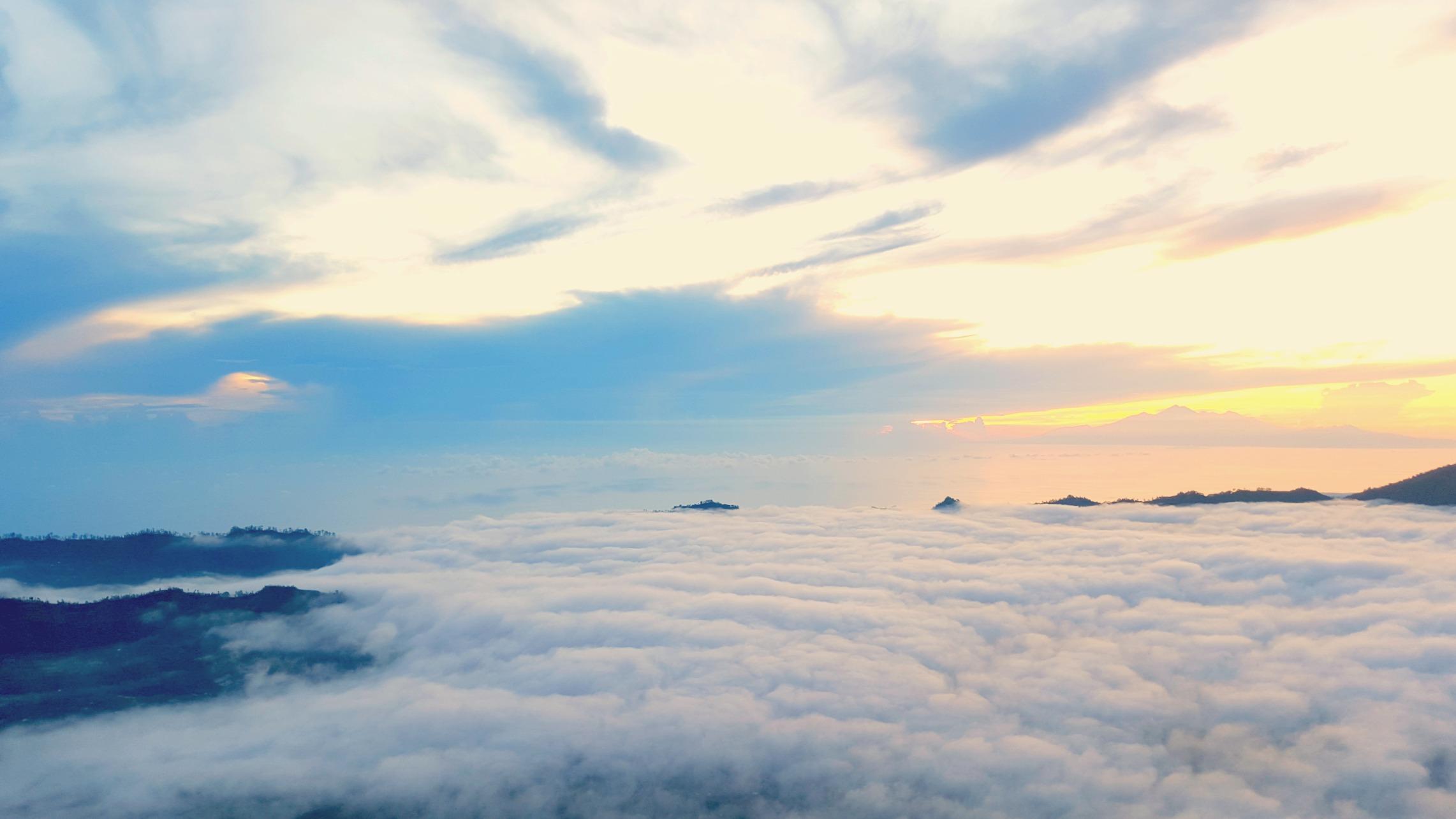 Top of Mount Batur