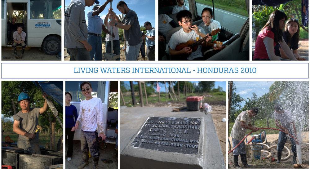 2010 Living Waters Honduras Missions