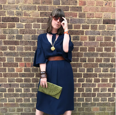 Caroline rocking our Coral sunnies - this could be you!