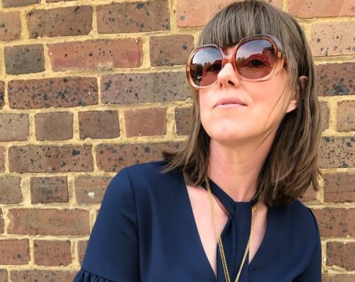 Peep Eyewear Knickers Models Own Coral Vintage Sunglasses