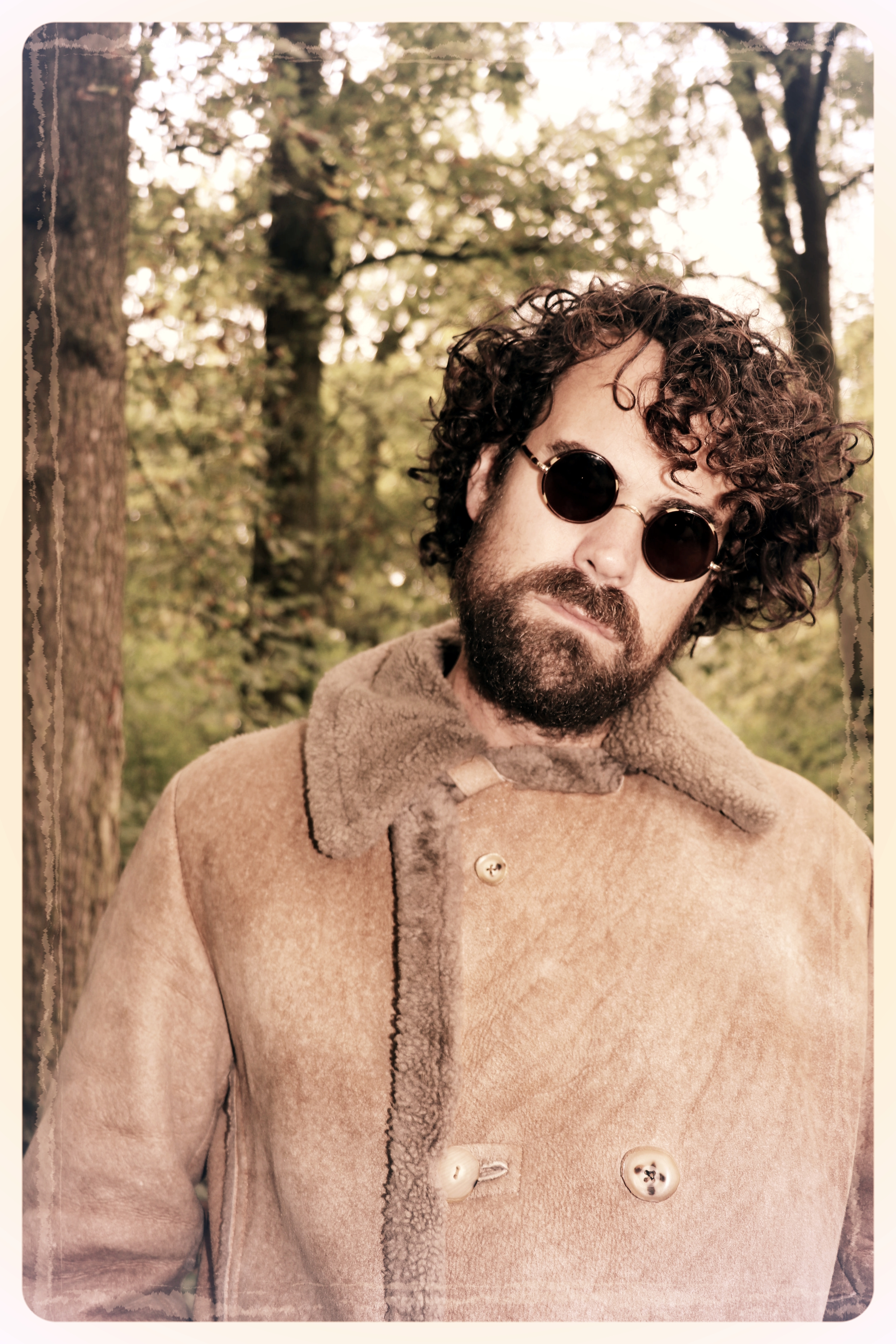 Peep Eyewear, Vintage Sunglasses, Max, 1930s, Worn in the woods, Autumn Winter Collection