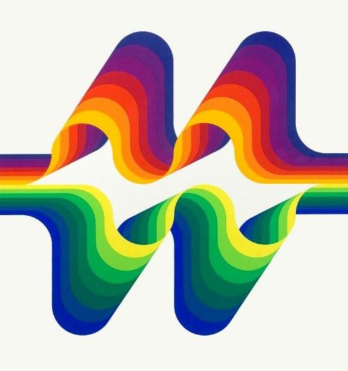 Vintage Rainbow Julio Le Parc