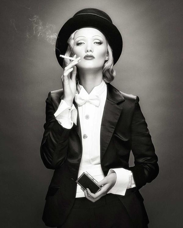 Marlene Dietrich - the master at work