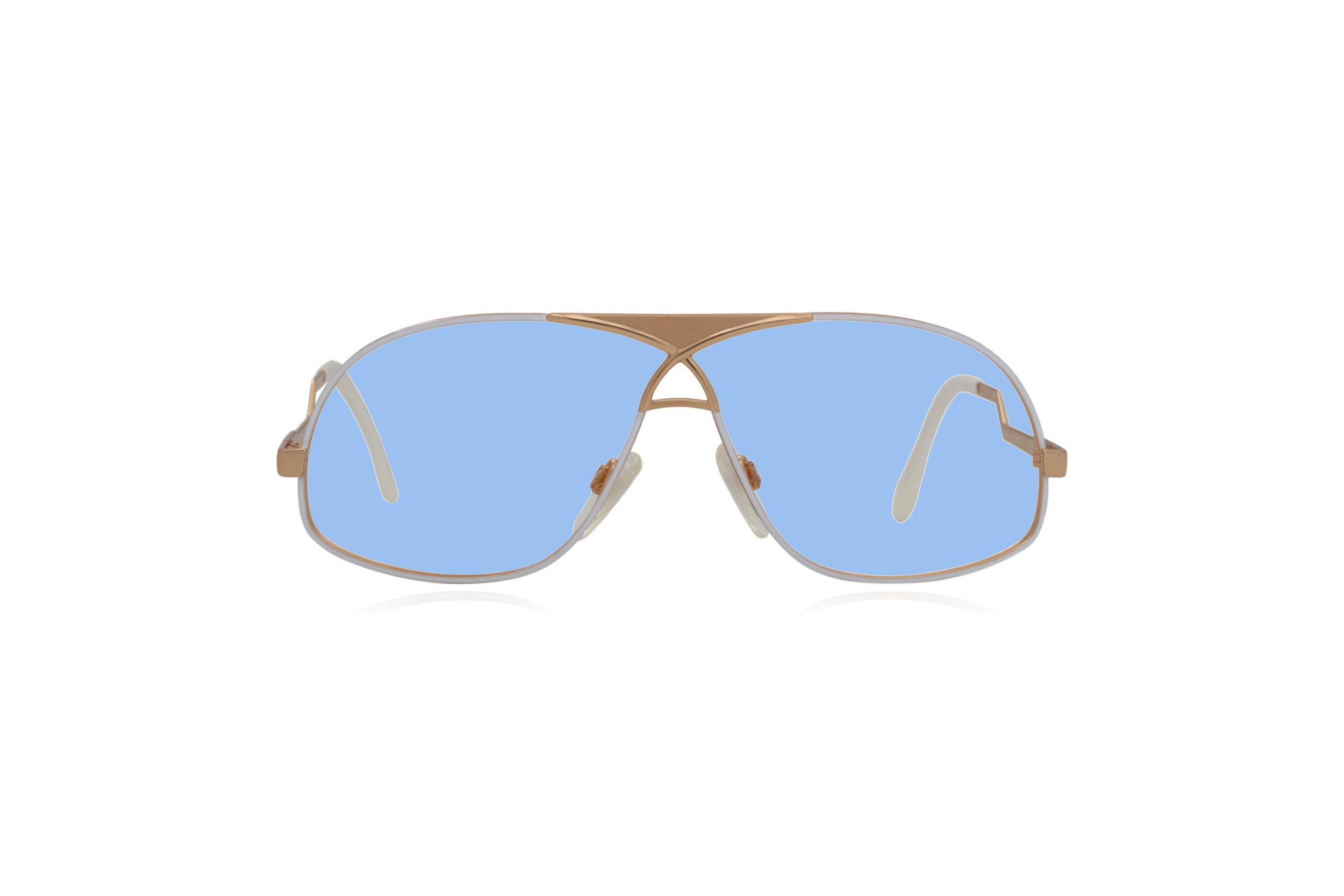 Peep Eyewear, Vintage Glasses, Cazal 737 Col 332, German,  Blue.png
