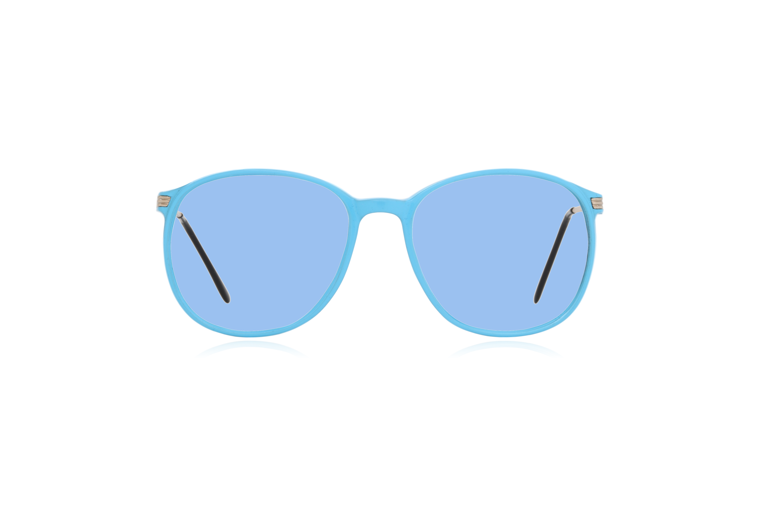 Peep Eyewear, Blue, Carbon, Vintage Glasses, 1980s, Italy, Clipwell, Blue.png