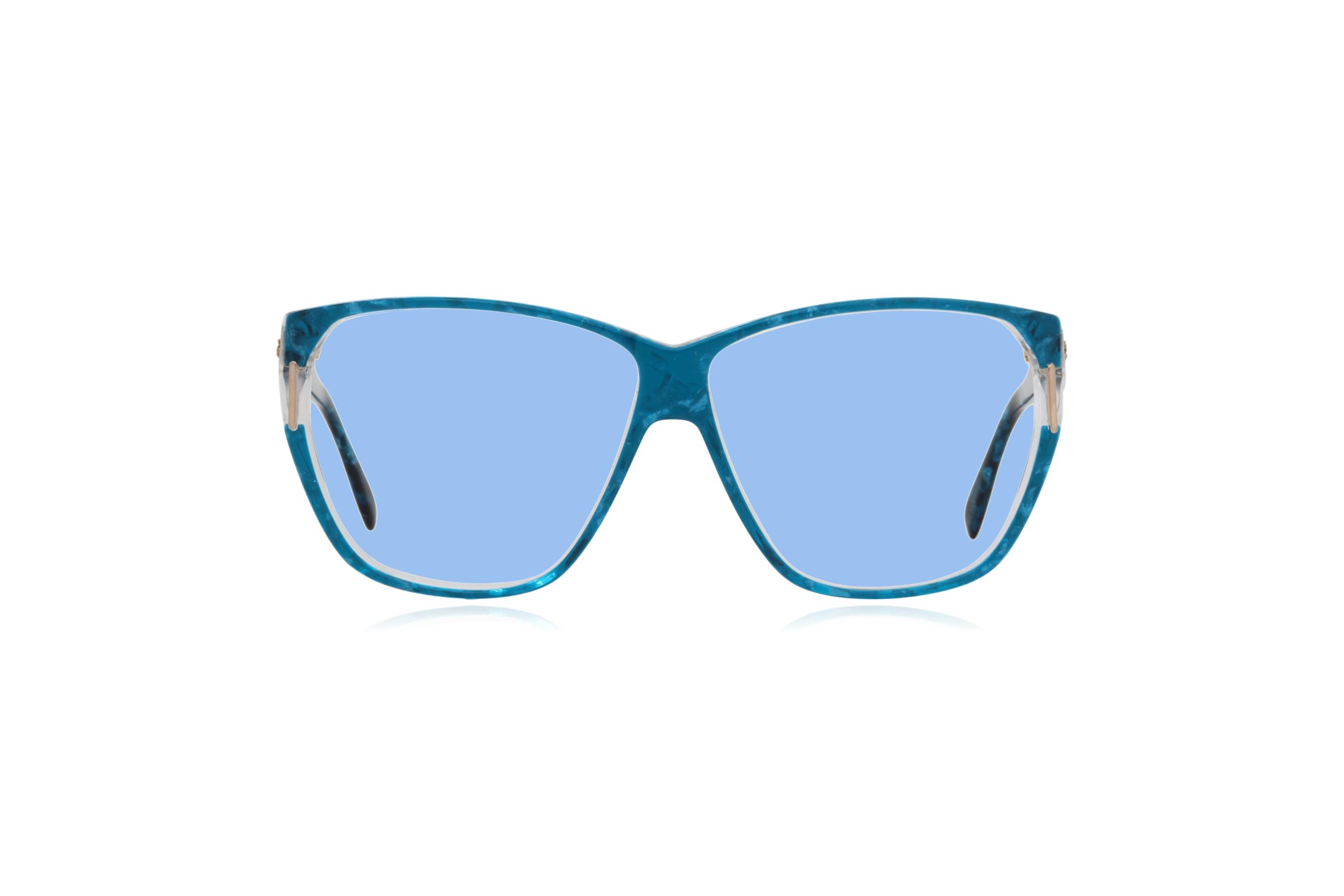 Peep Eyewear, Vintage Glasses, Silhouette 1232, 80s, Blue, Acetate, Blue.png