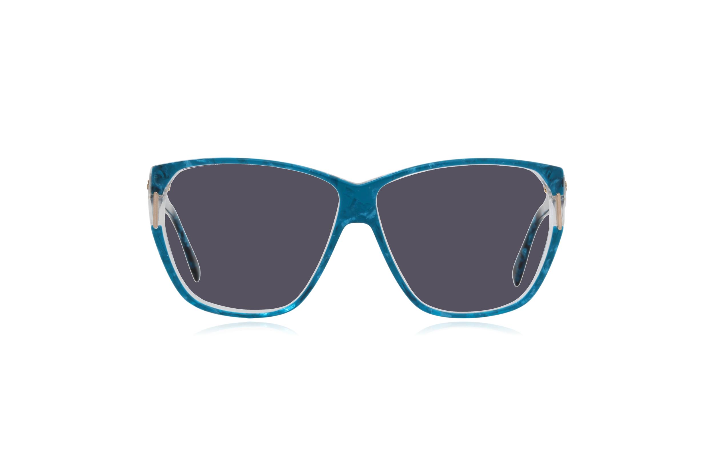 Peep Eyewear, Vintage Glasses, Silhouette 1232, 80s, Blue, Acetate, Grey.png