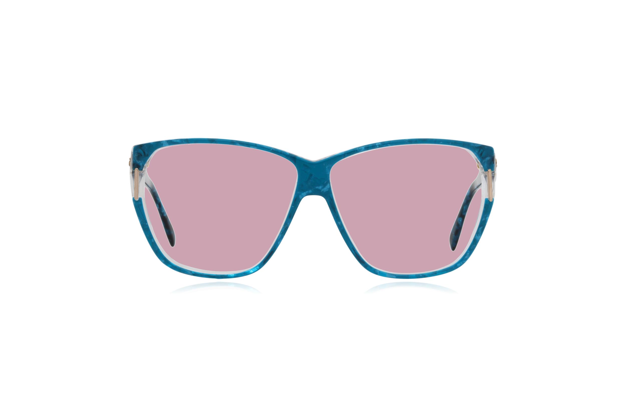 Peep Eyewear, Vintage Glasses, Silhouette 1232, 80s, Blue, Acetate, Pink.png