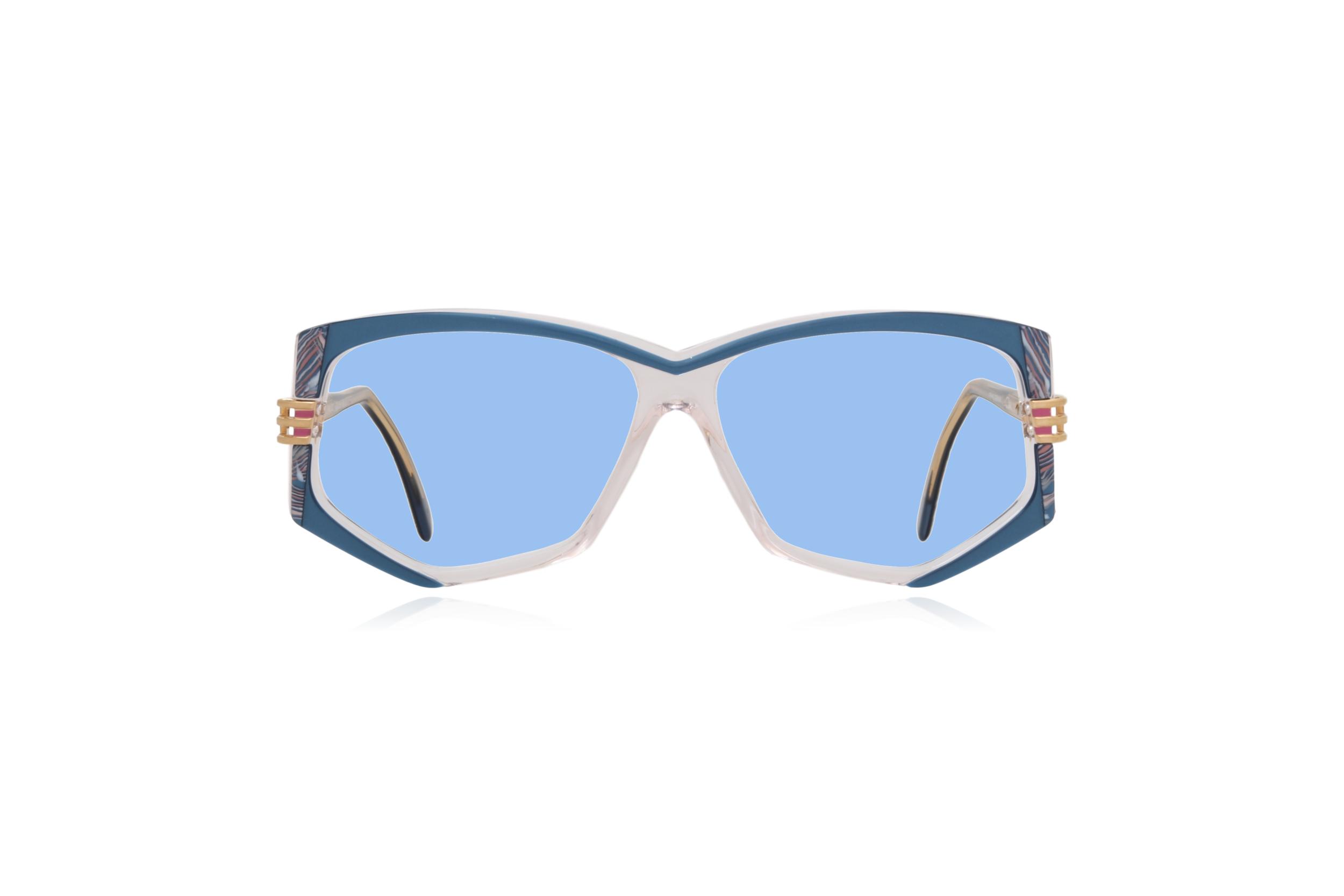 Peep Eyewear, Vintage Glasses, 80s, Cazal 322, German, Blue.png