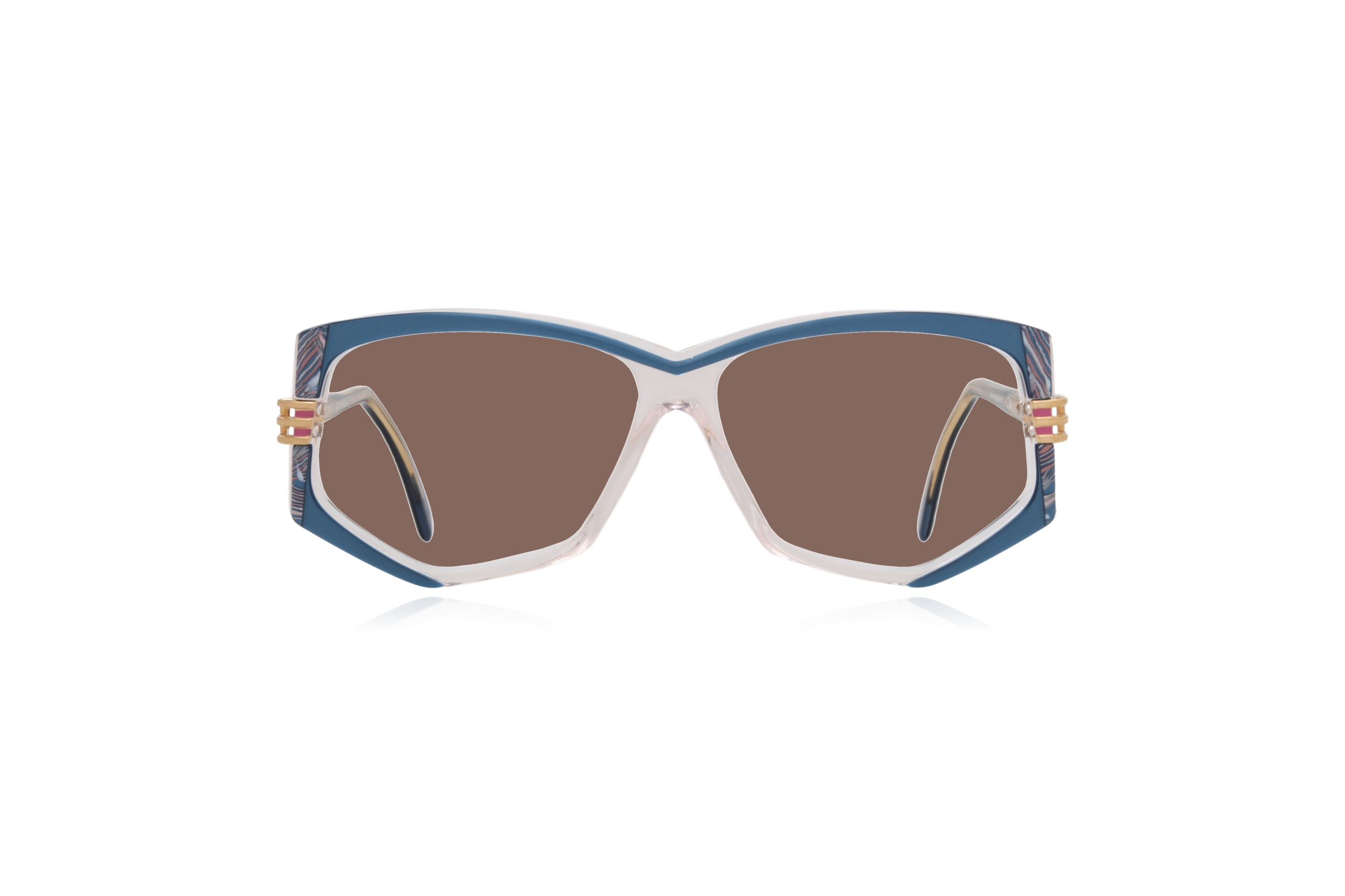 Peep Eyewear, Vintage Glasses, 80s, Cazal 322, German, Brown.png