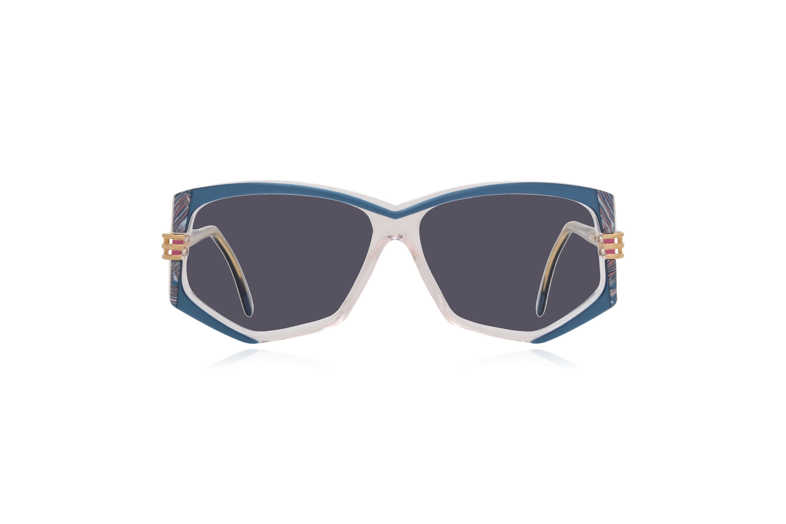Peep Eyewear, Vintage Glasses, 80s, Cazal 322, German, Grey.png