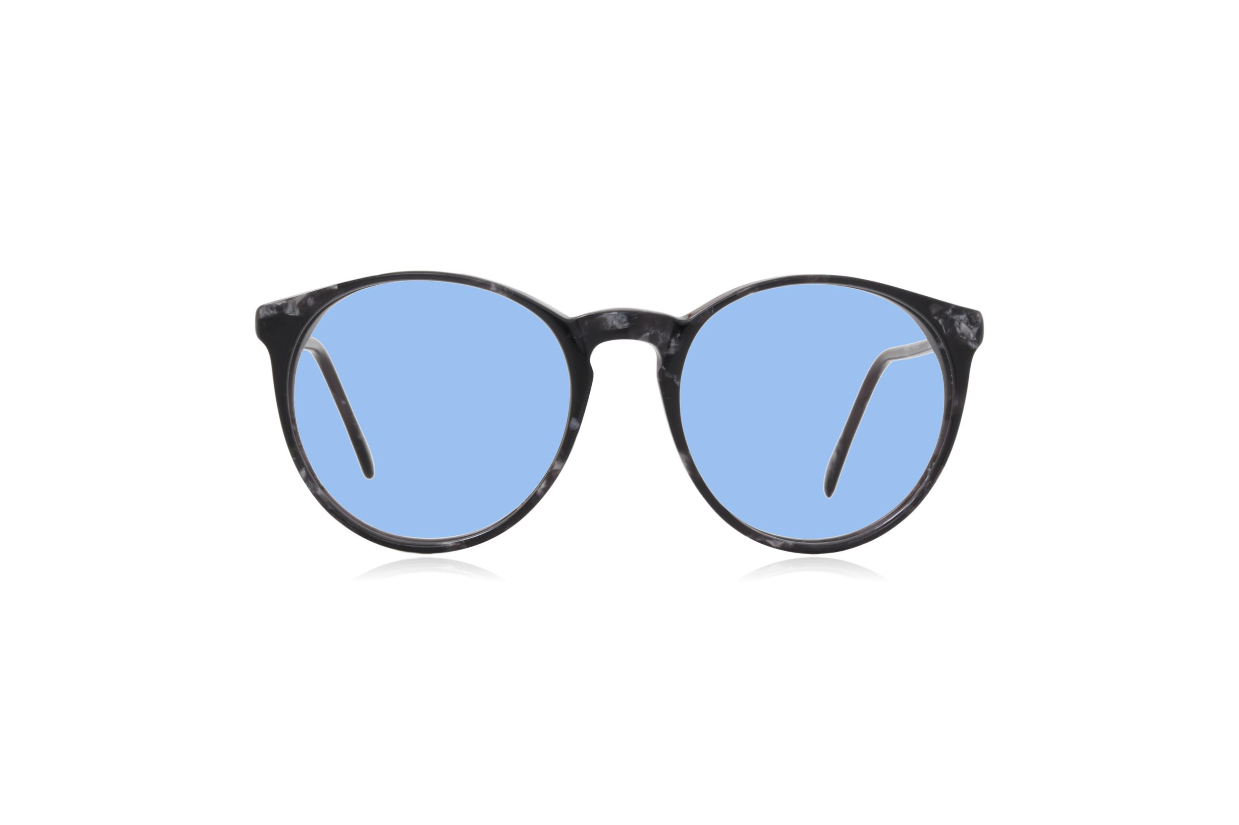 Peep Eyewear, Vintage Glasses, Morel 2730, Round, 80s, Blue.png