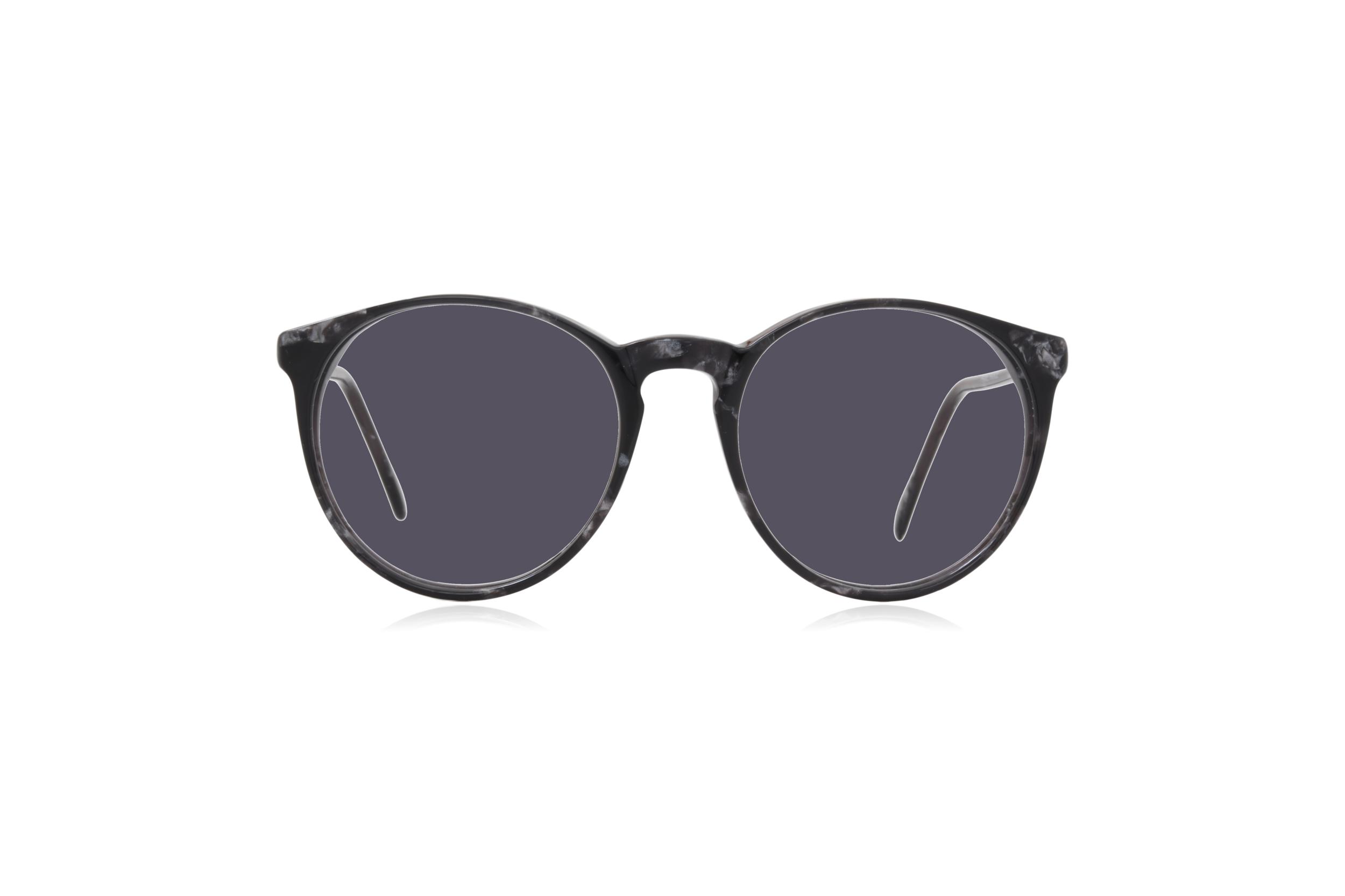Peep Eyewear, Vintage Glasses, Morel 2730, Round, 80s, Grey.png