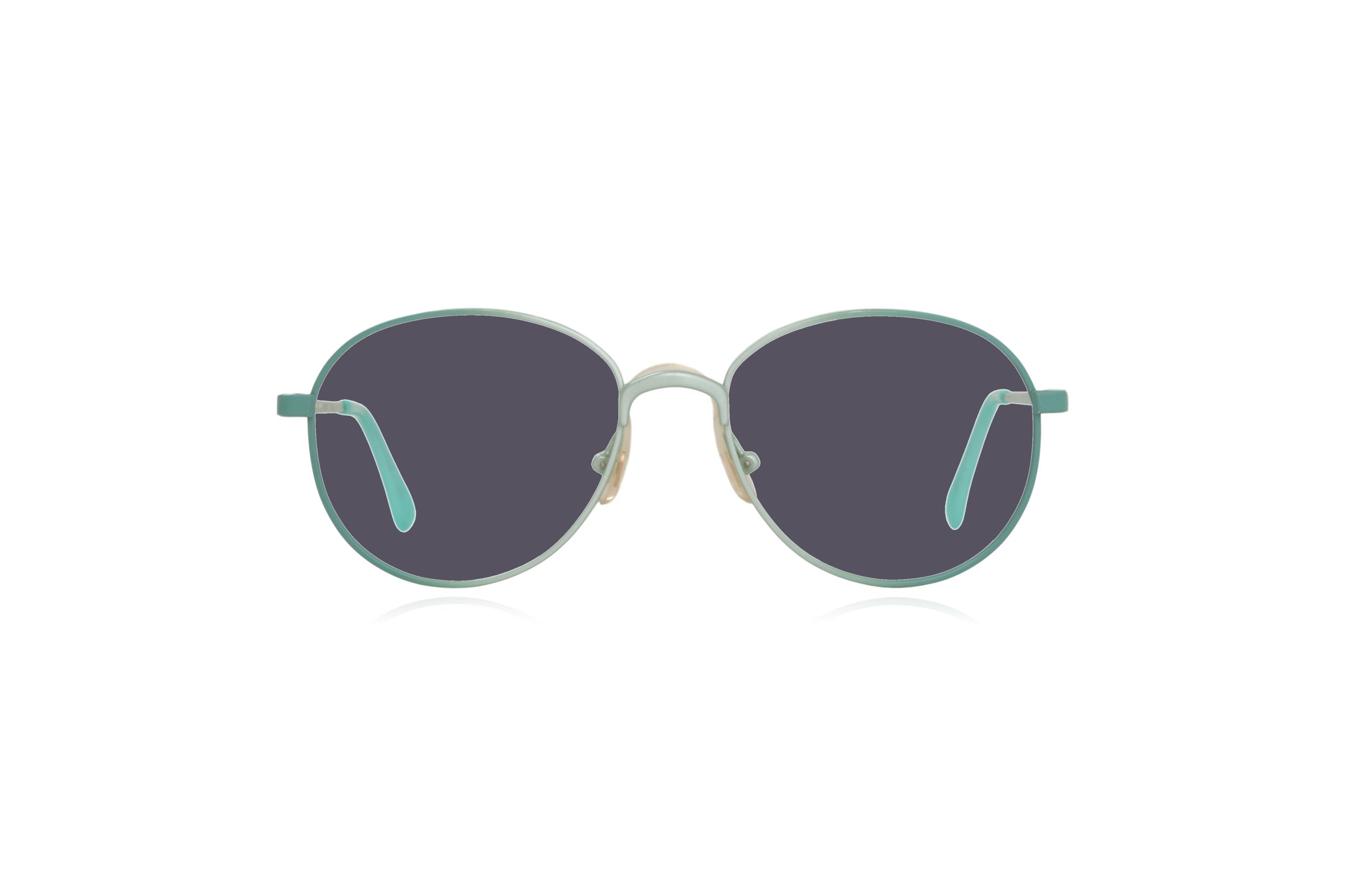 Peep Eyewear, Vintage Glasses, Round, Mint Green, Candy, Grey.png