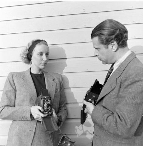 Nina Leen and Serge Balkin