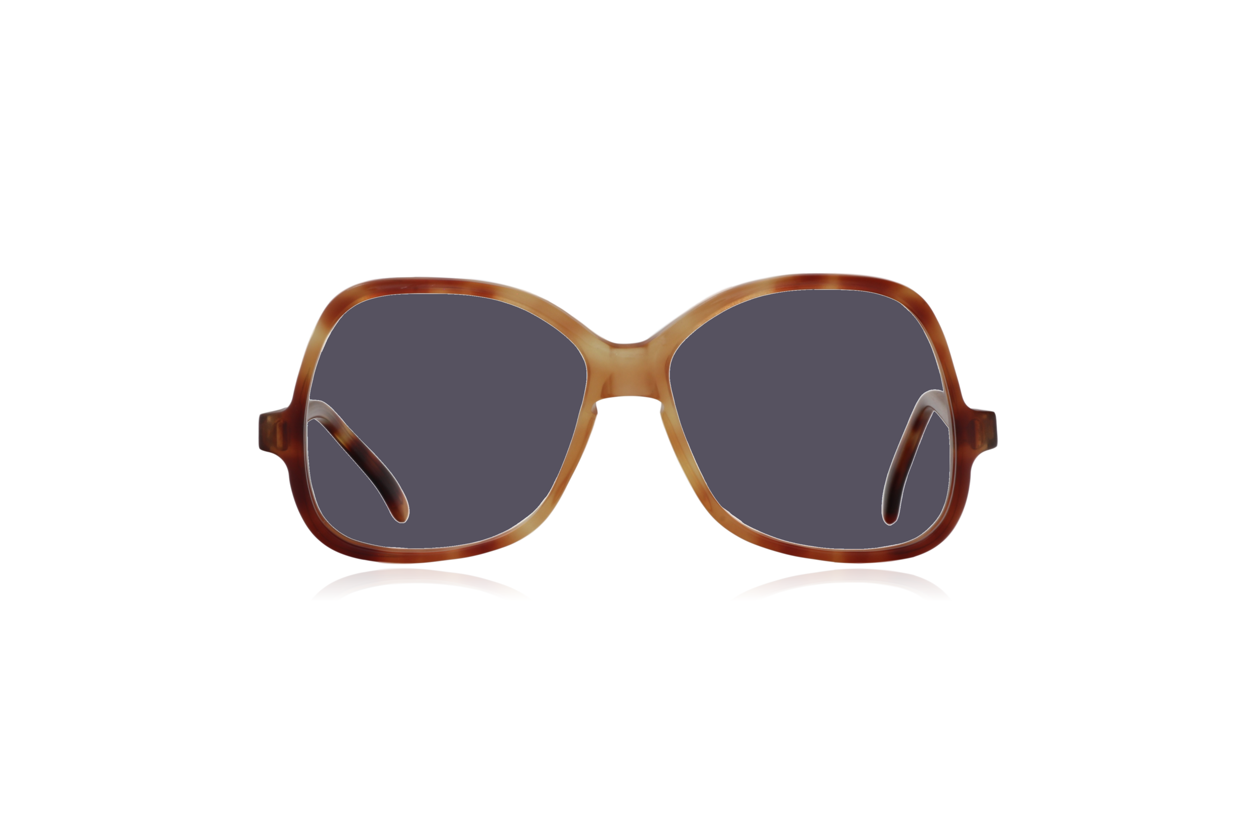 Peep Eyewear, Vintage Glasses, Honey by Bausch & Lomb, Oversize, Front, Grey.png