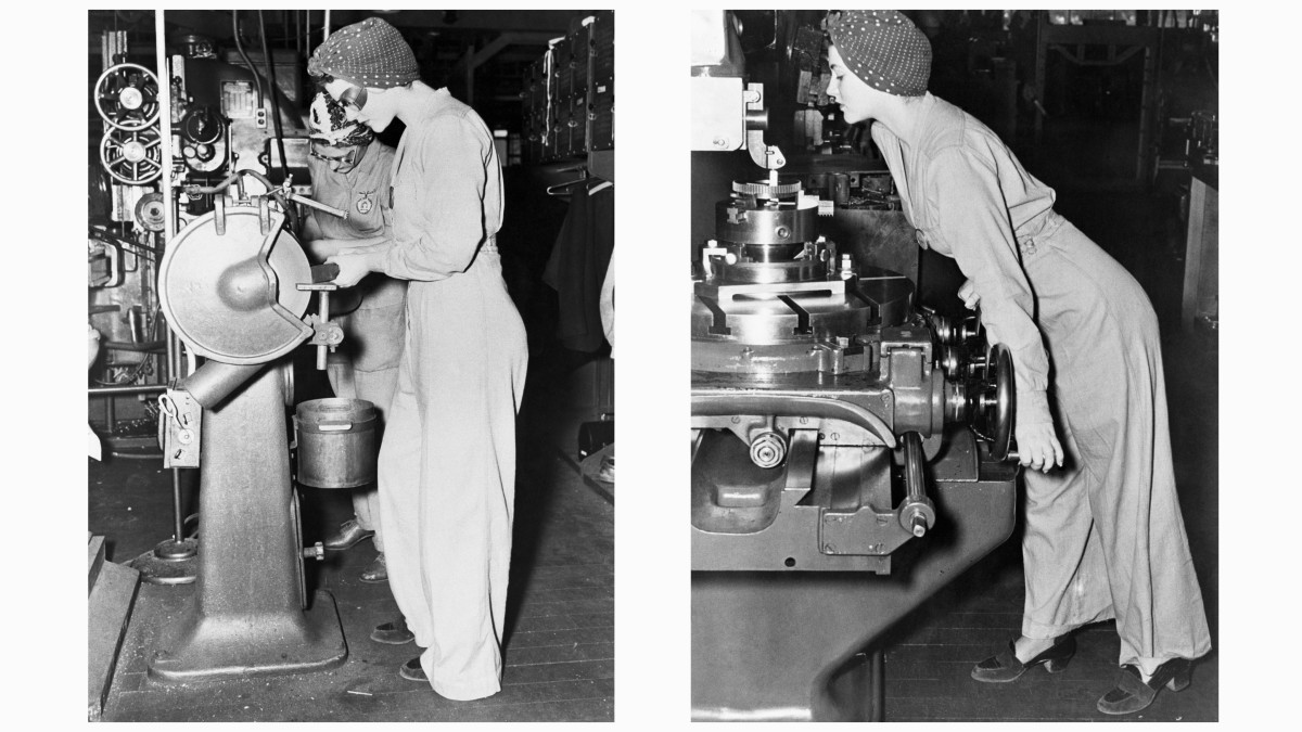 Naomi Parker Fraley, the inspiration behind Rosie the Riveter
