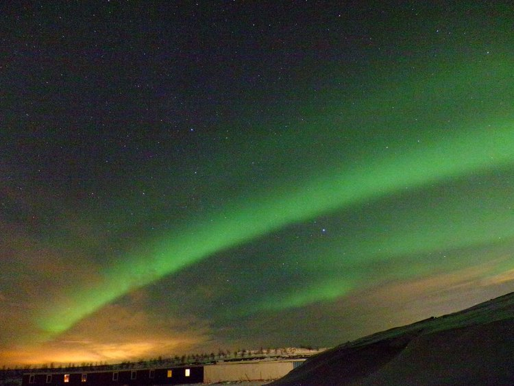 Hello, Northern Lights. Sigh.