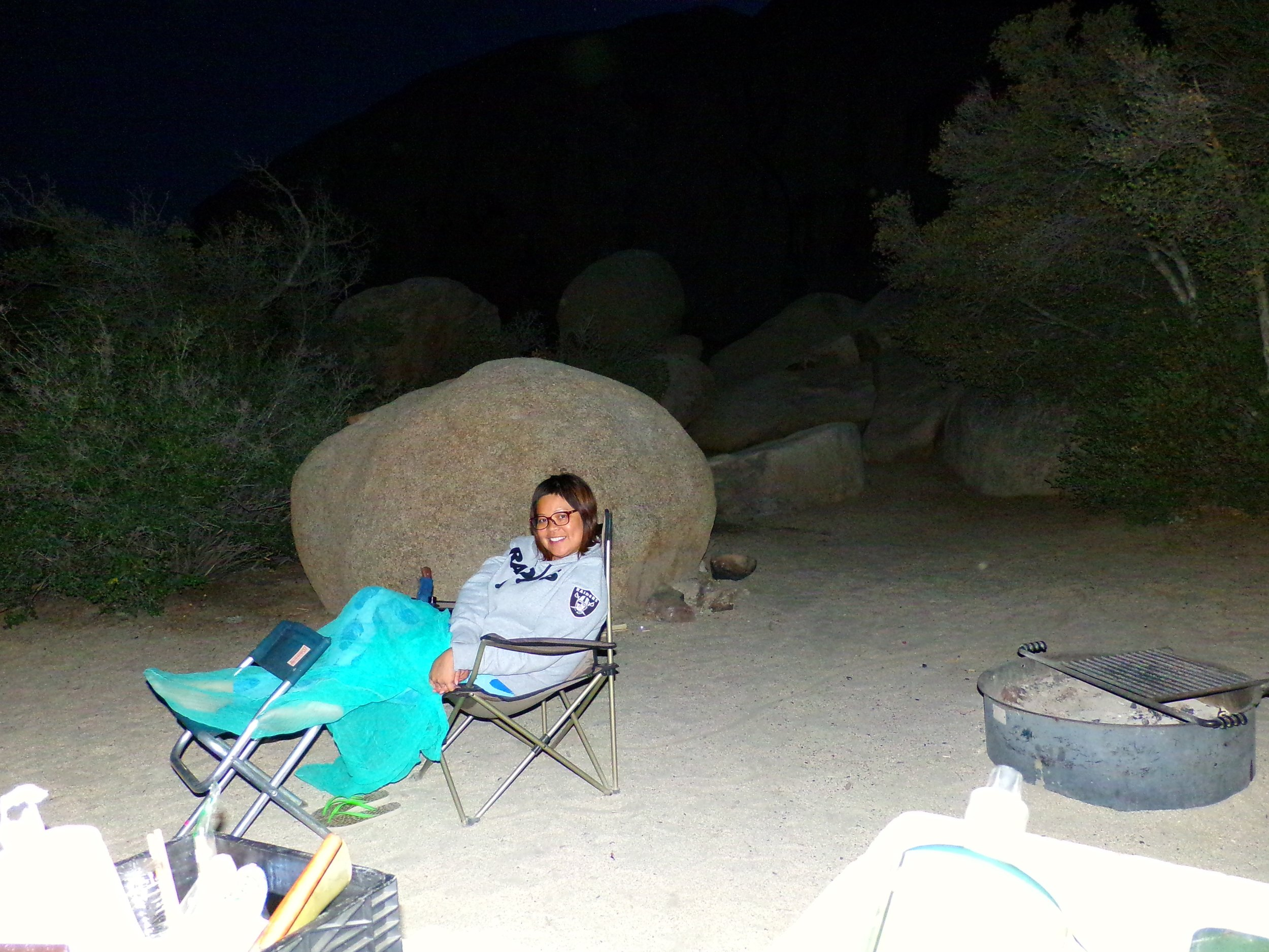 All I need in my life of sin is  me and my kulambo...camping at Joshua Tree, June 2016.