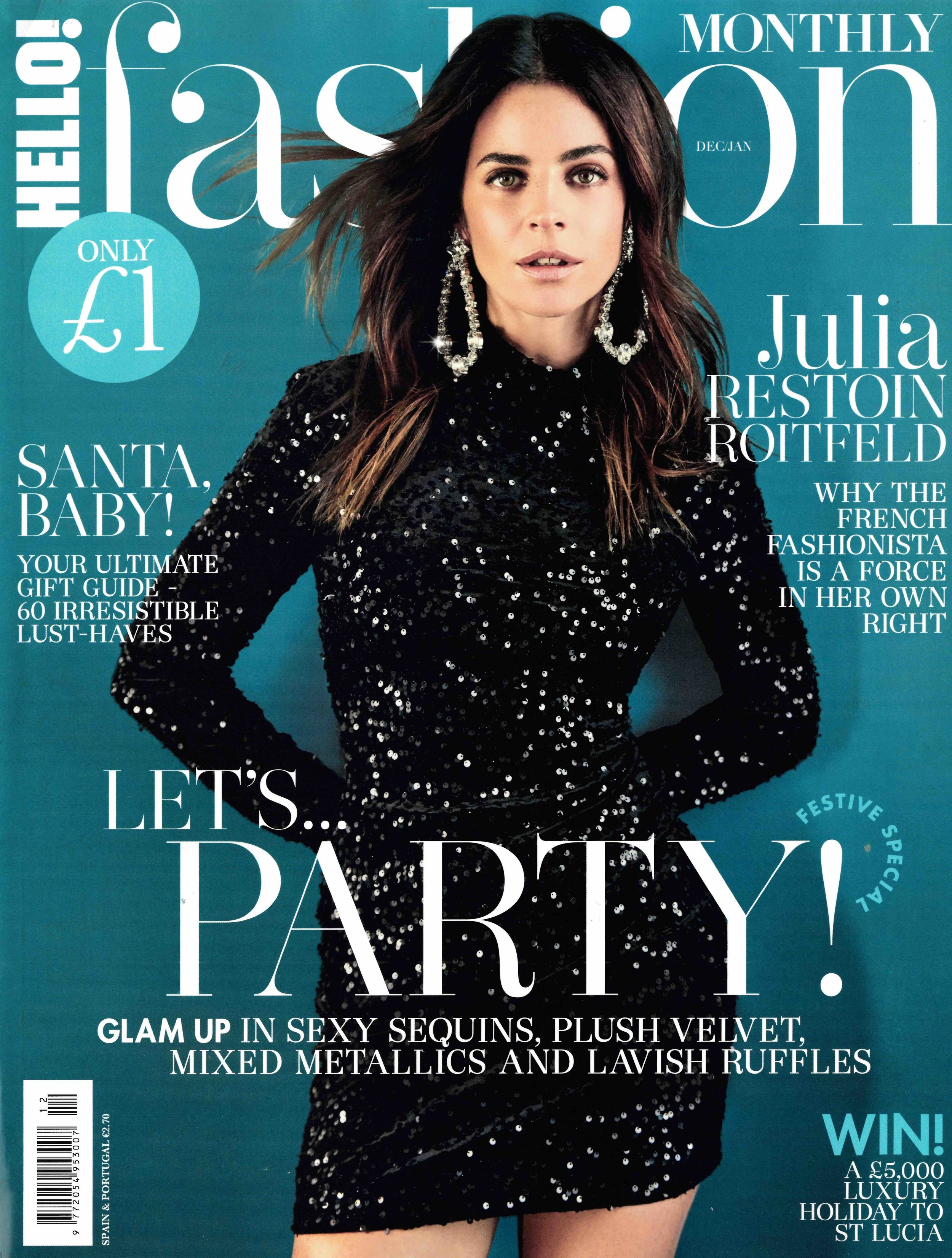 December Issue, Hello! Fashion Monthly Cover.jpg