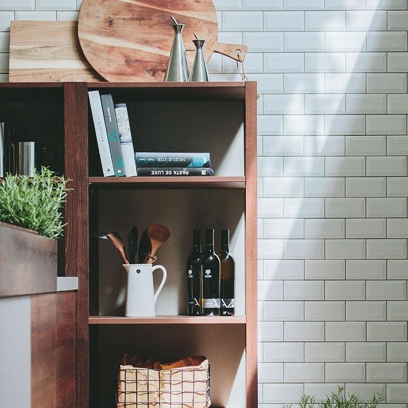 walden - Rückwand Holz/Linol