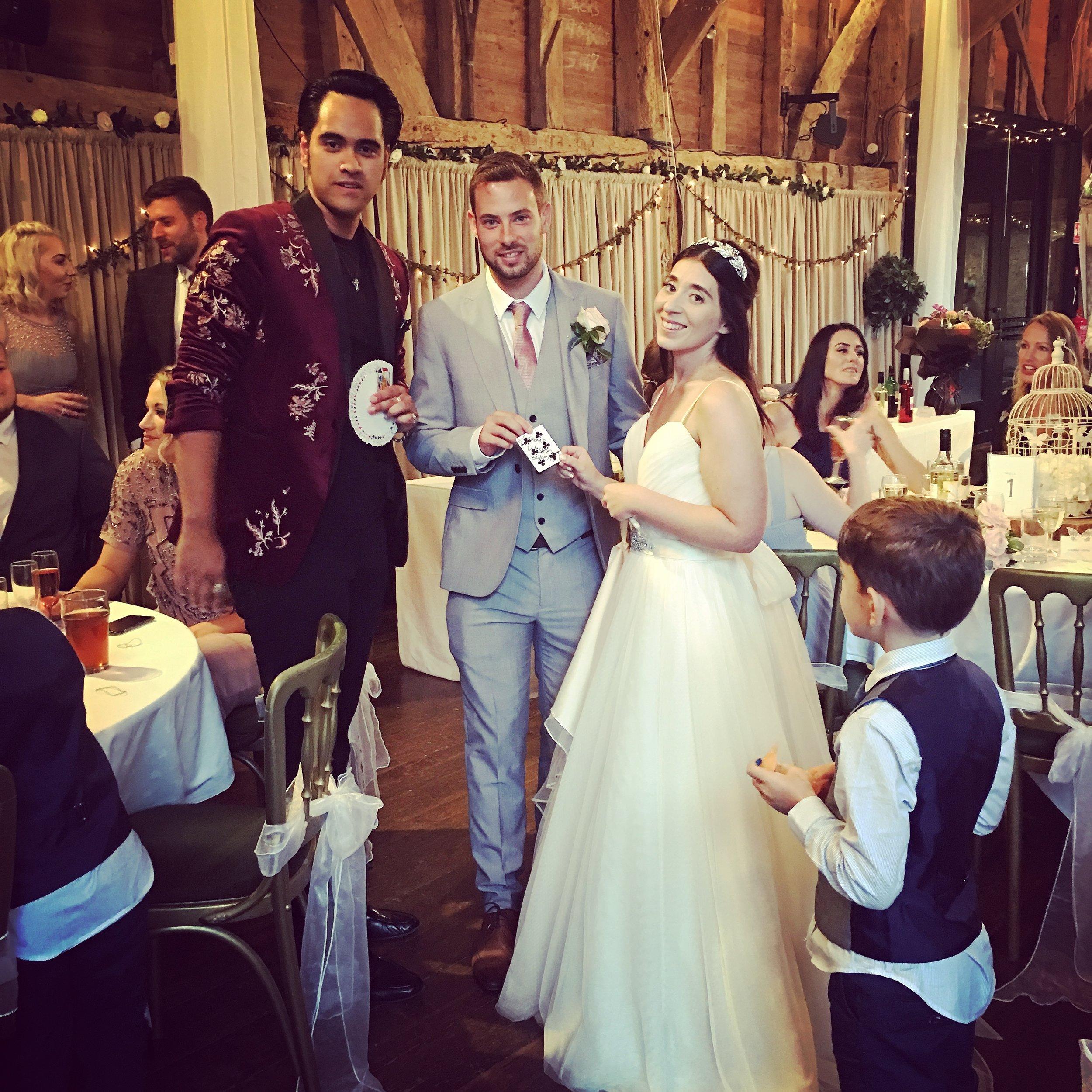 Wedding Magician Sussex