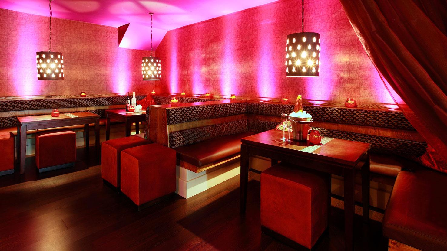 Bar restaurant interiors